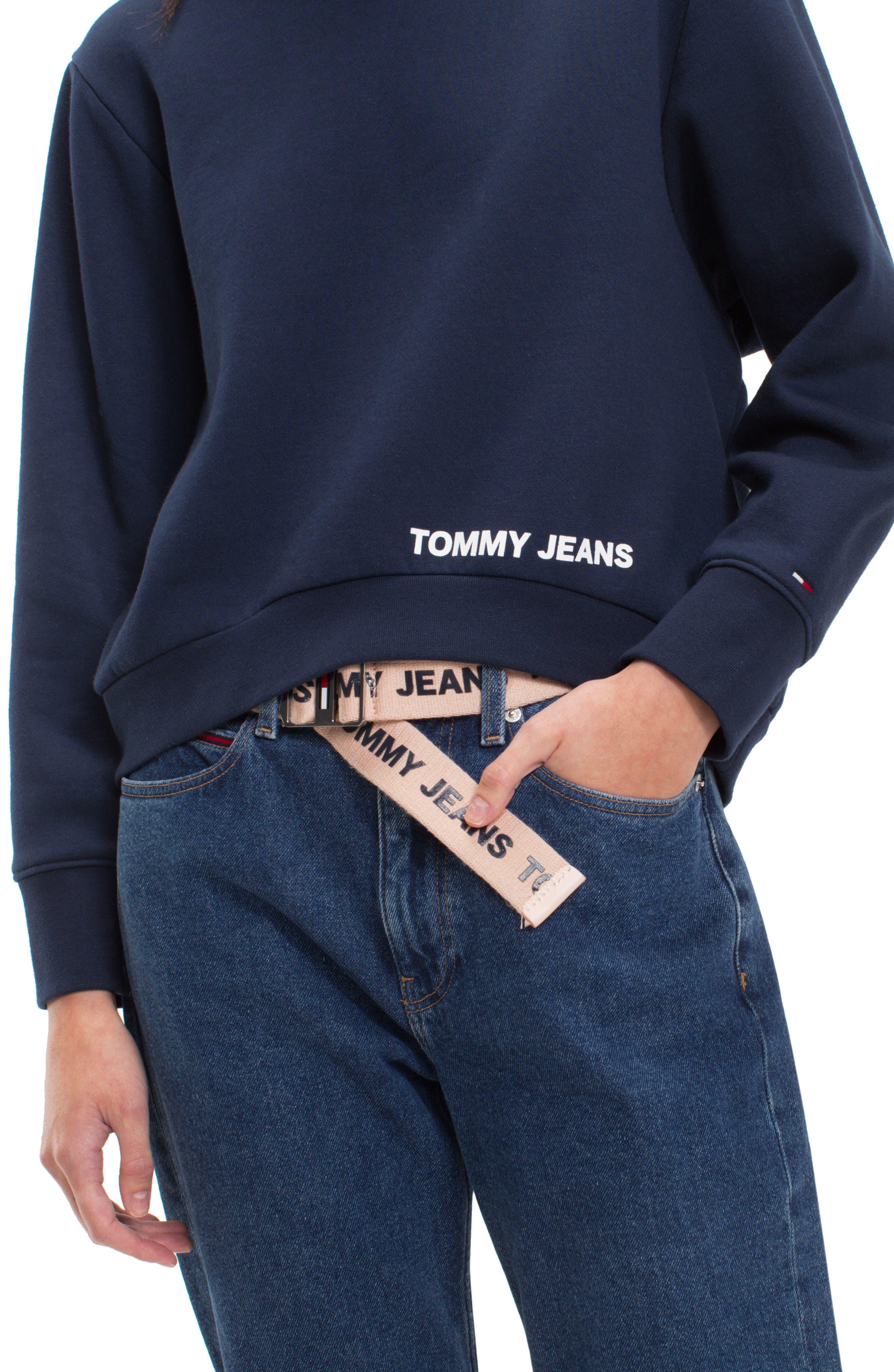TJW Clean Logo Sweatshirt,                             Alternate thumbnail 3, color,                             002