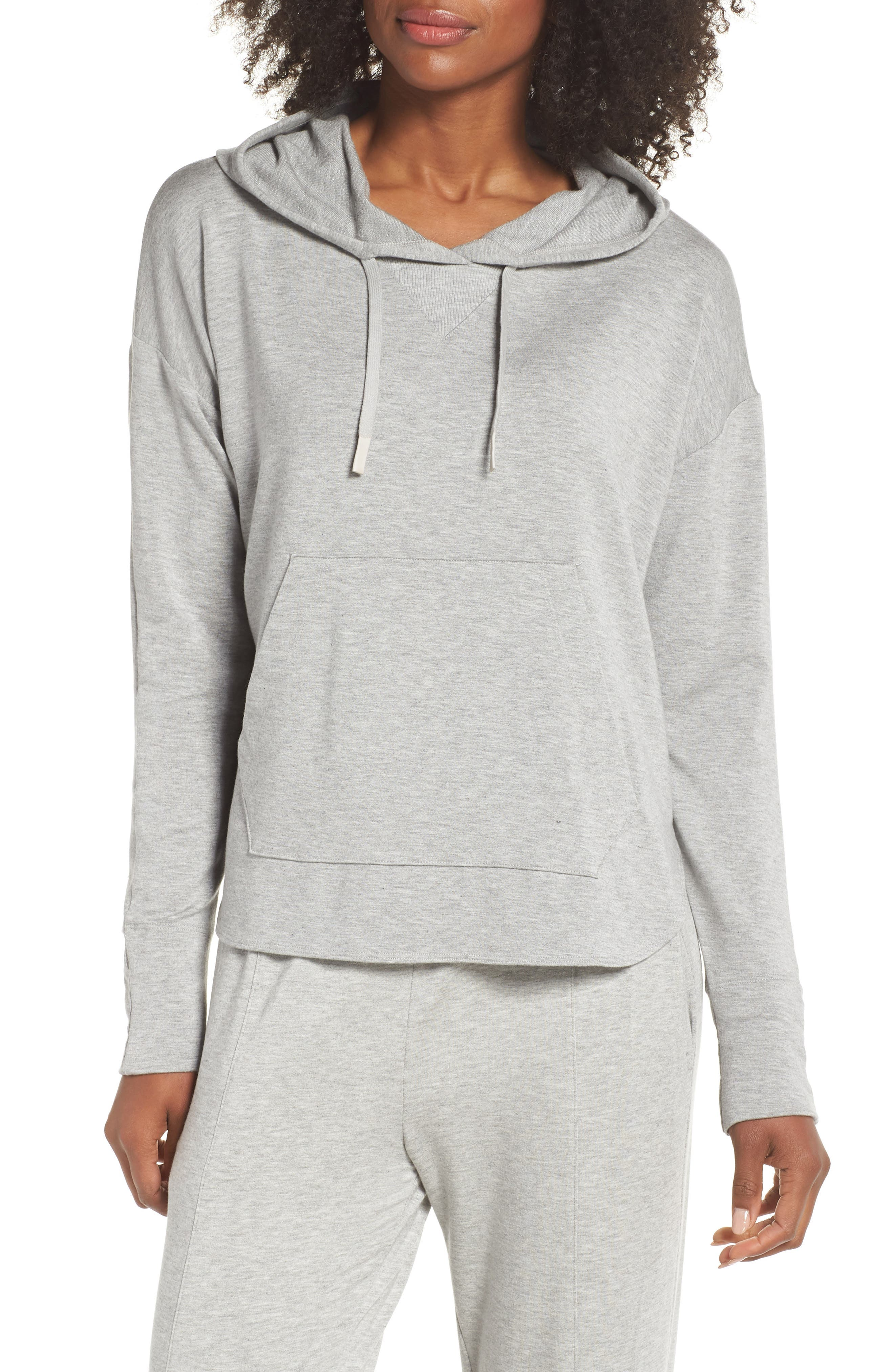 Pacific Hoodie,                         Main,                         color, LIGHT HEATHER GREY