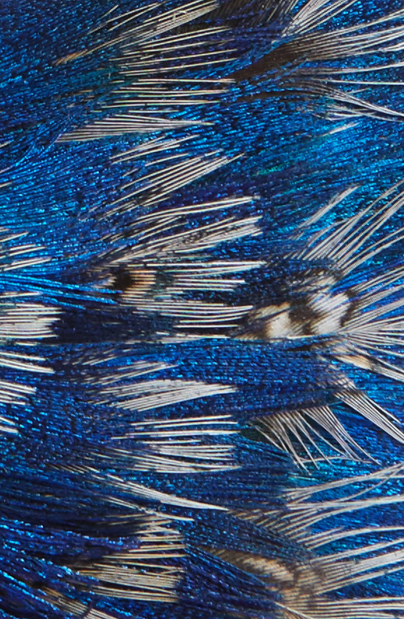 Codell Feather Bow Tie,                             Alternate thumbnail 2, color,                             BLUE