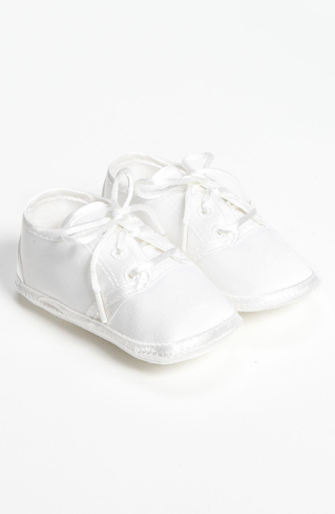 Matte Satin Shoe,                         Main,                         color, WHITE