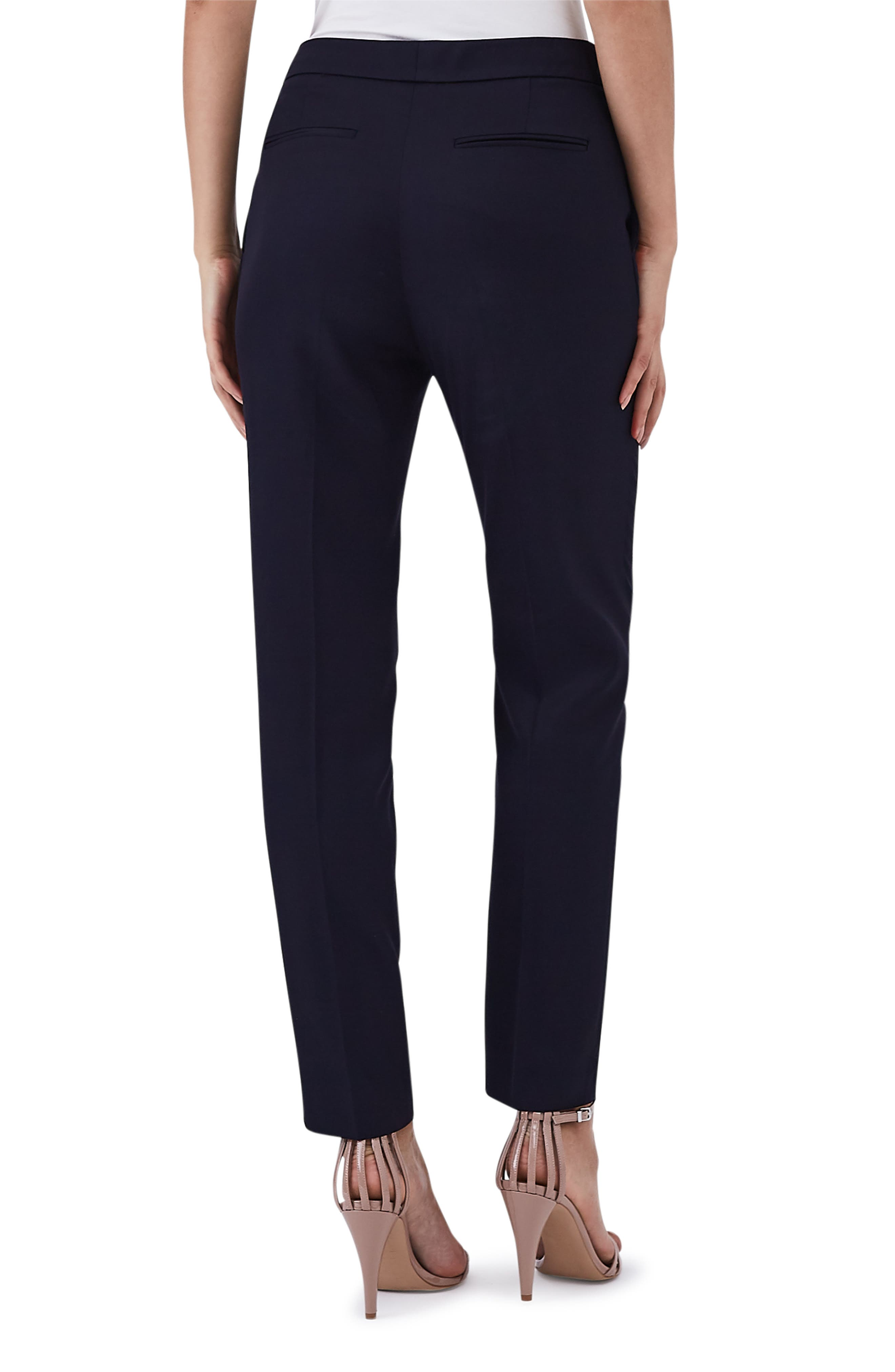 Flat Front Tally Trousers,                             Alternate thumbnail 2, color,                             BLUE