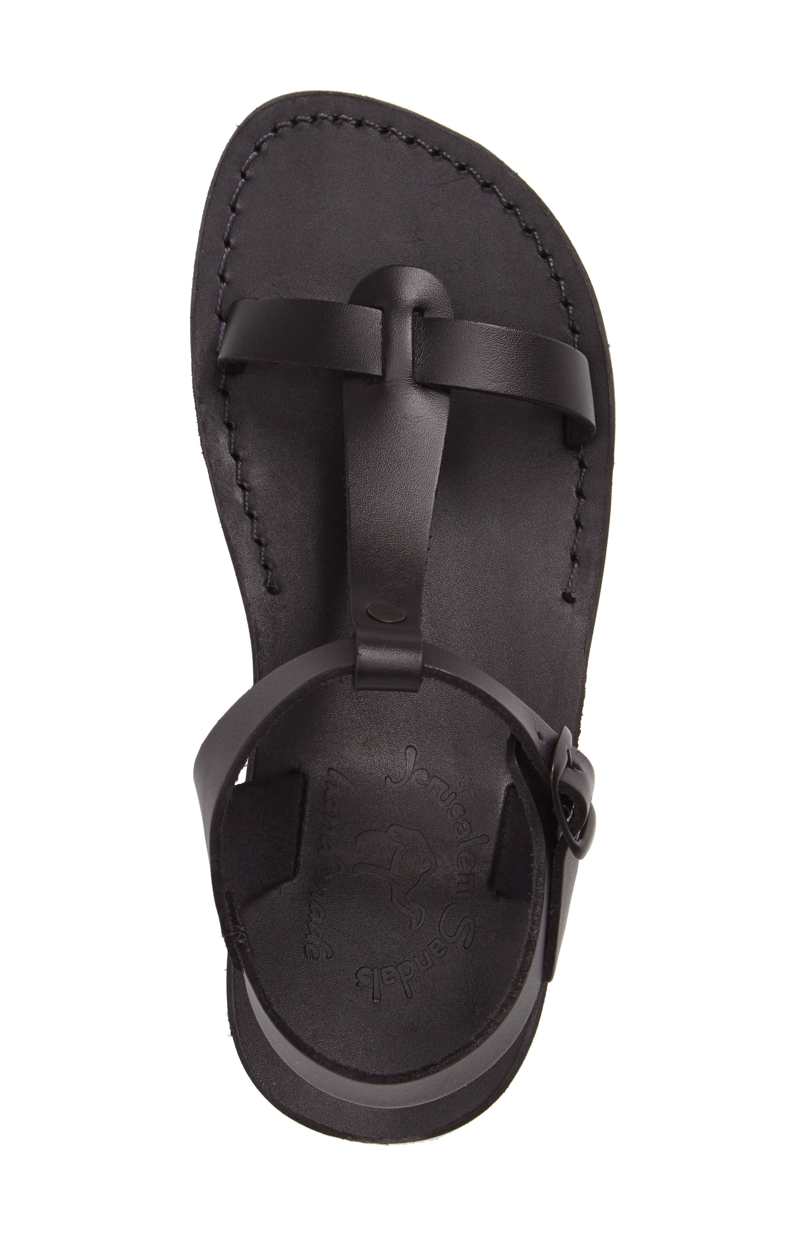 Bathsheba T-Strap Sandal,                             Alternate thumbnail 3, color,                             001