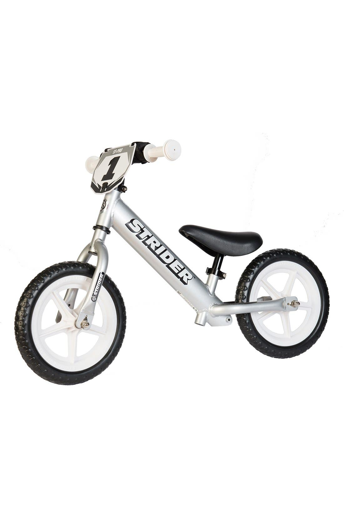 12 Pro Balance No Pedal Bike,                             Main thumbnail 1, color,                             SILVER
