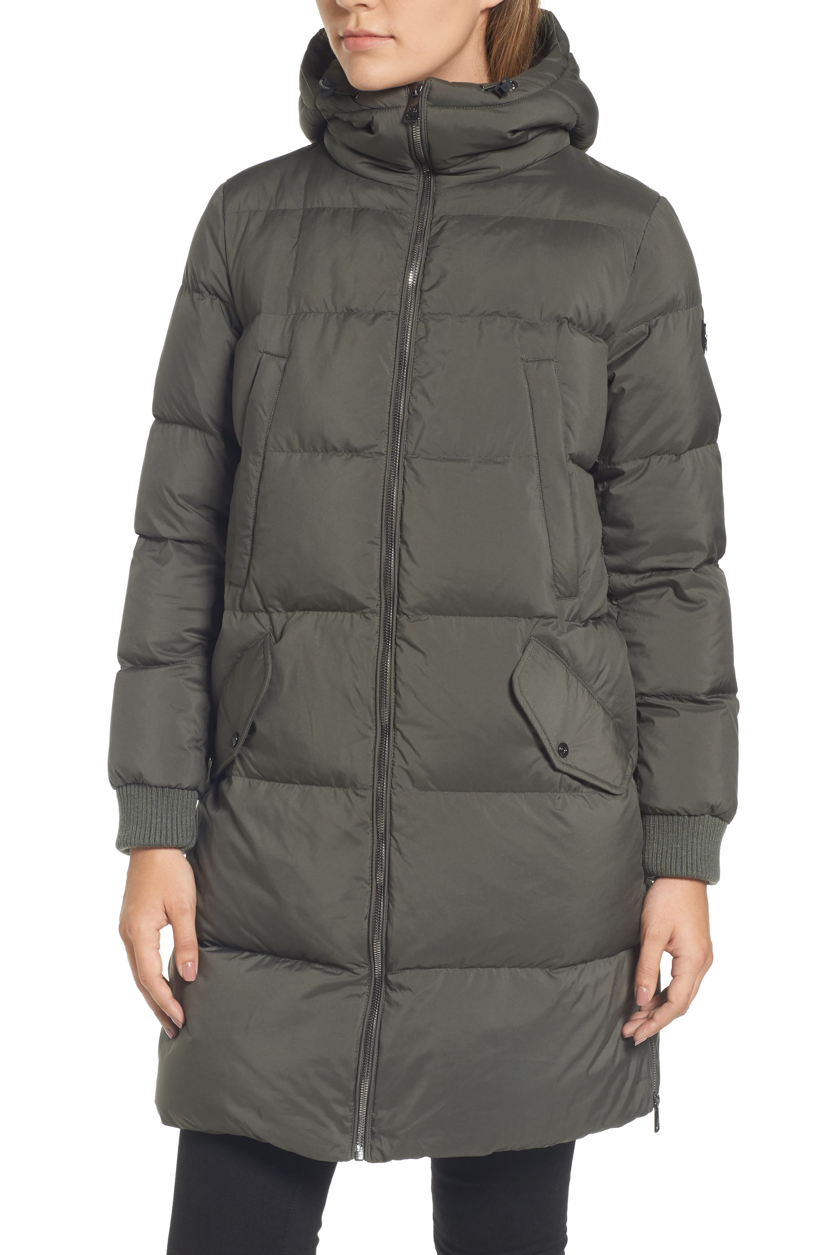 Quilted Down Jacket,                             Alternate thumbnail 4, color,                             311