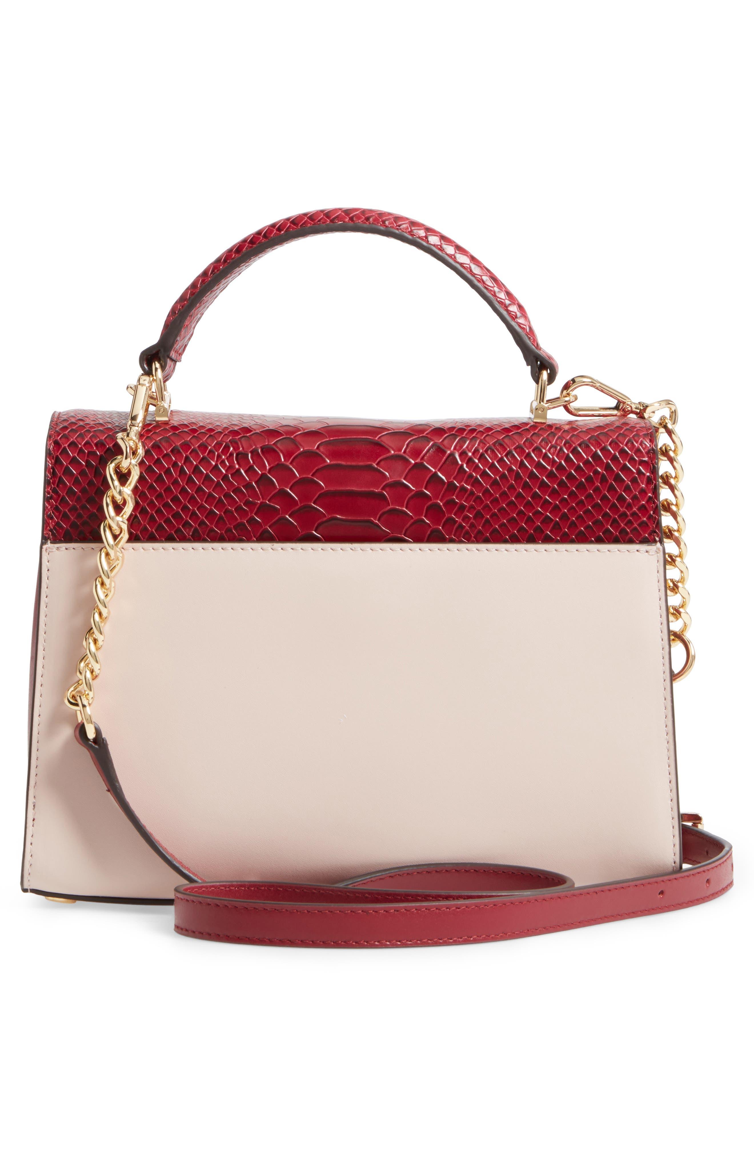 Medium Sloan Leather Shoulder Bag,                             Alternate thumbnail 3, color,                             686
