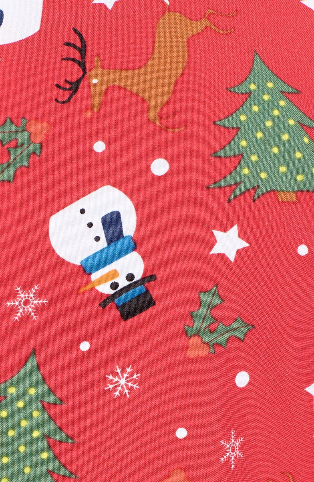 'Christmaster' Holiday Suit & Tie,                             Alternate thumbnail 5, color,                             600