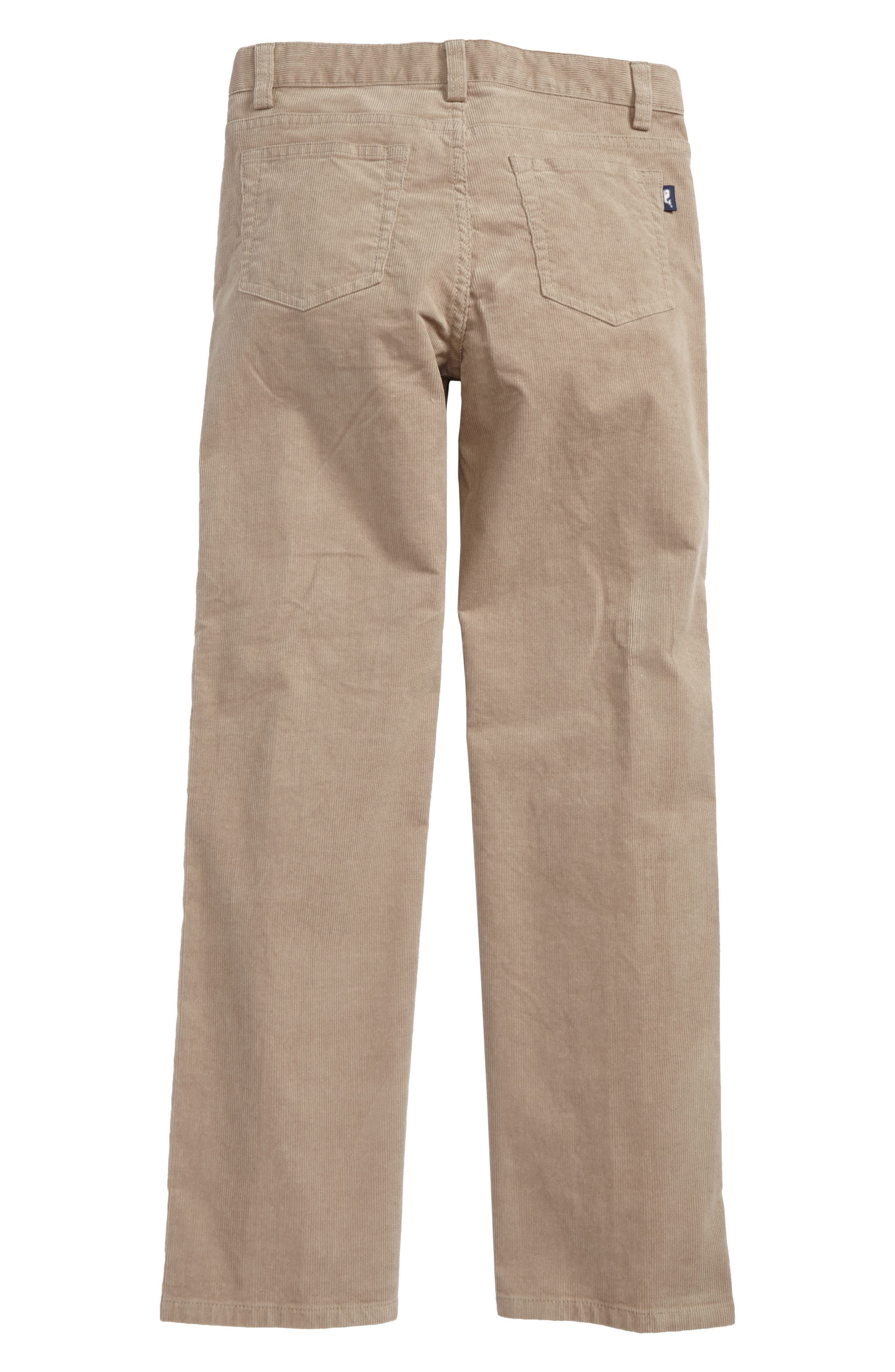 Straight Leg Corduroy Pants,                             Alternate thumbnail 7, color,