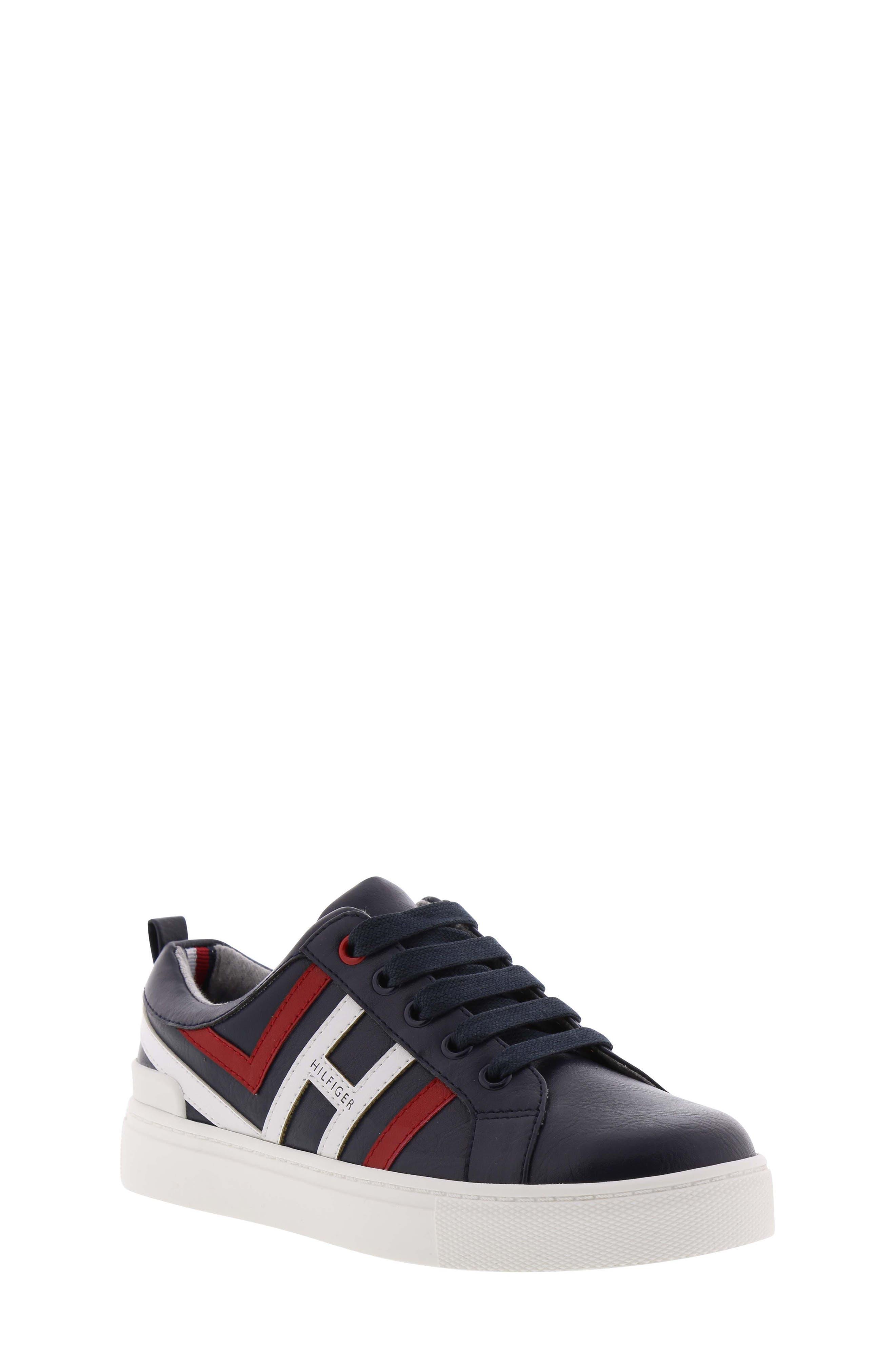 Reece Jacob Sneaker,                         Main,                         color, PEACOAT MULTI