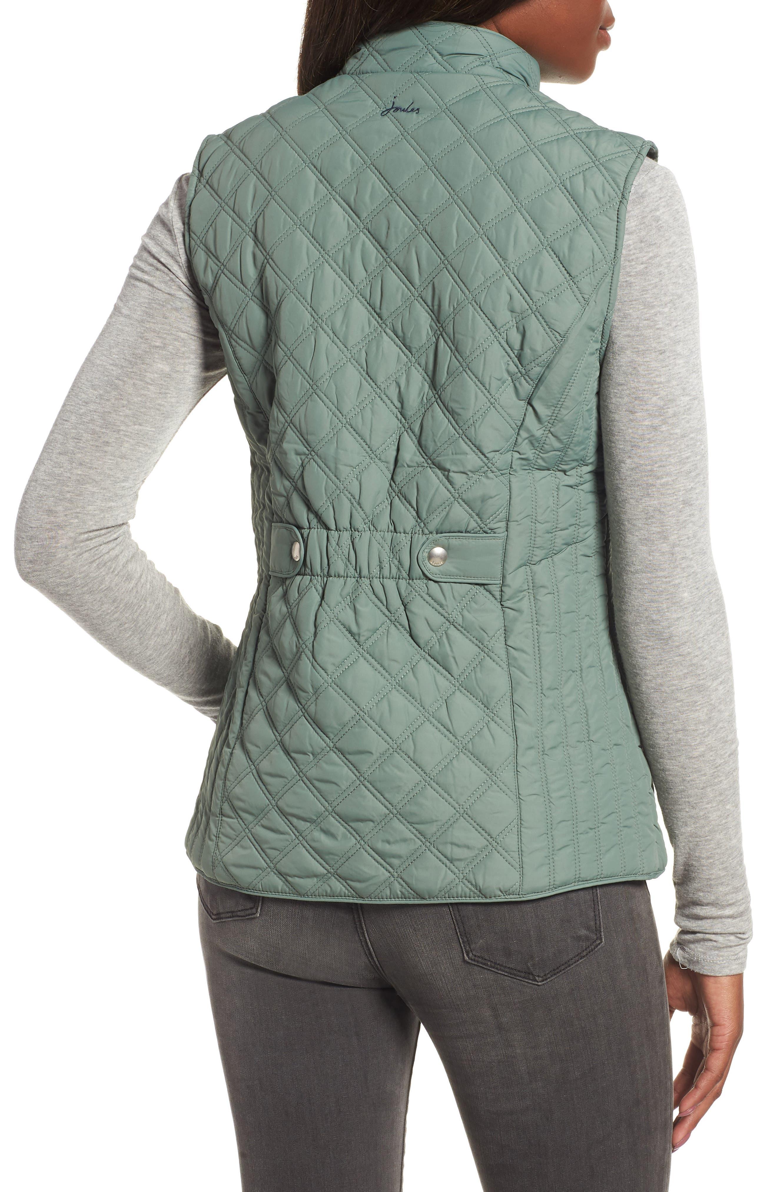 Minx Quilted Vest,                             Alternate thumbnail 2, color,                             LAUREL 2