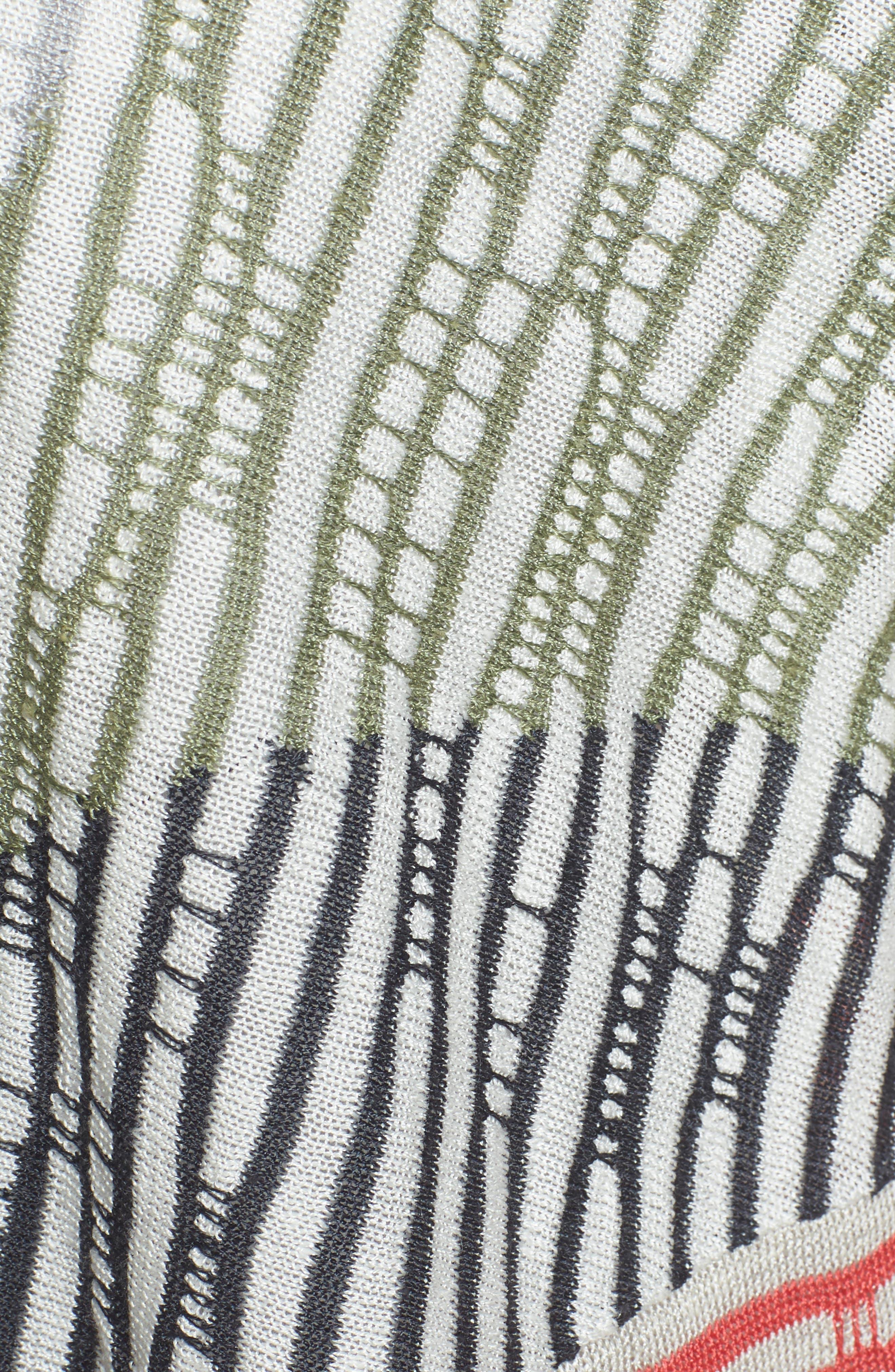 Stitch Blocked 4-Way Cardigan,                             Alternate thumbnail 5, color,                             490