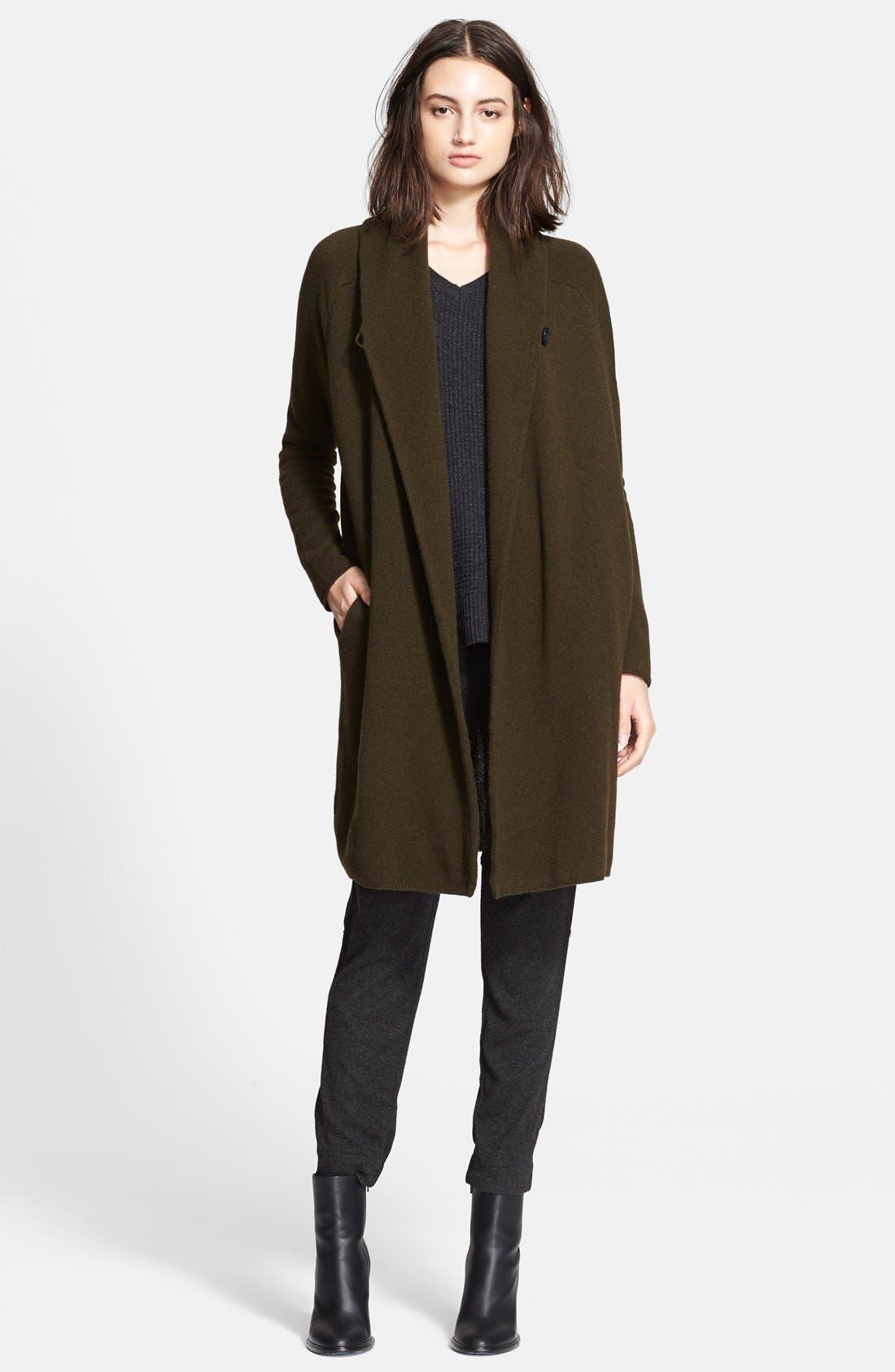 VINCE Car Coat Sweater, Main, color, 303