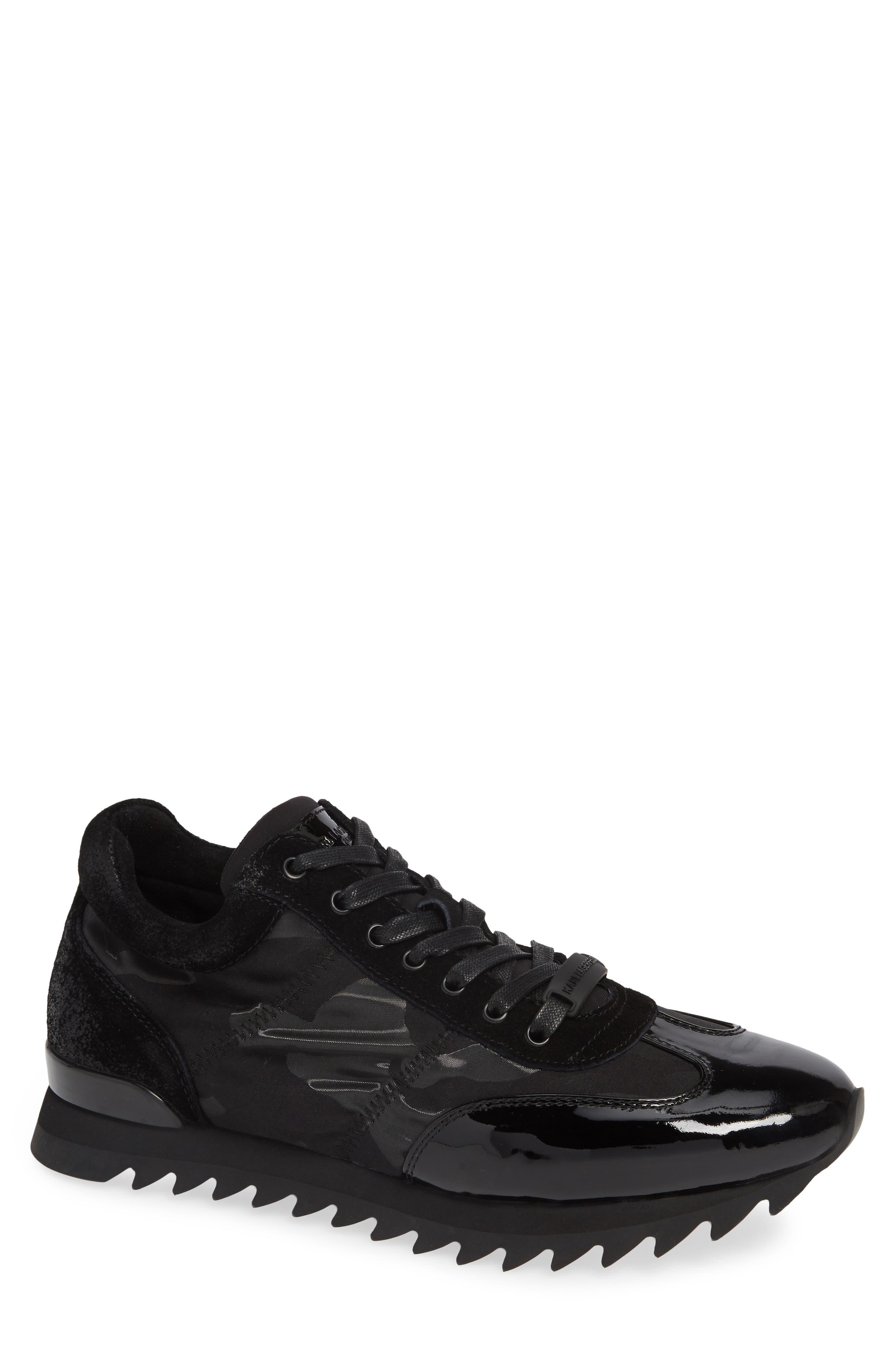 Camo Print Sneaker,                         Main,                         color, 001