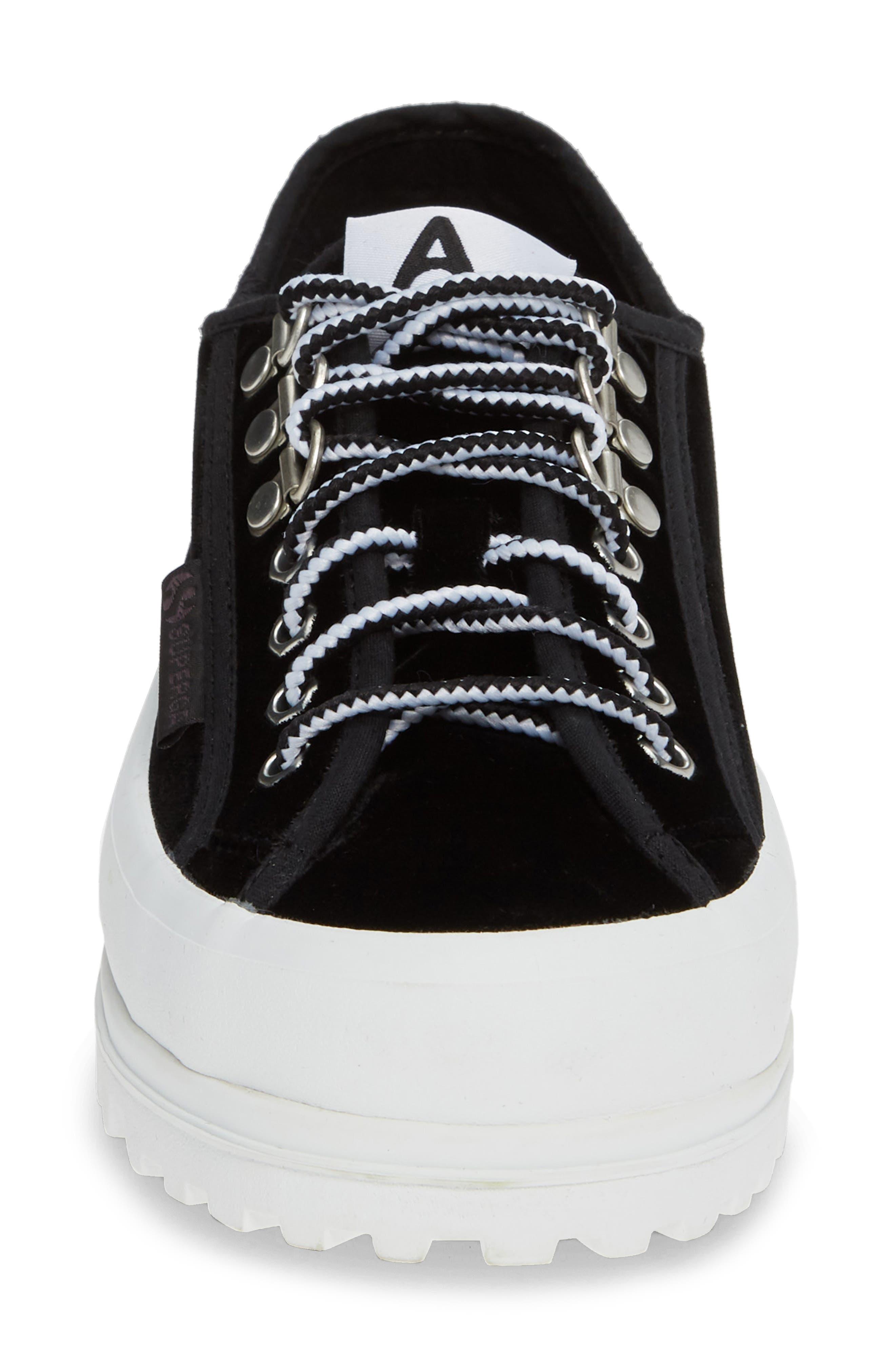 x Alexa Chung 2748 Veltvalpinaw Lugged Platform Sneaker,                             Alternate thumbnail 4, color,                             001