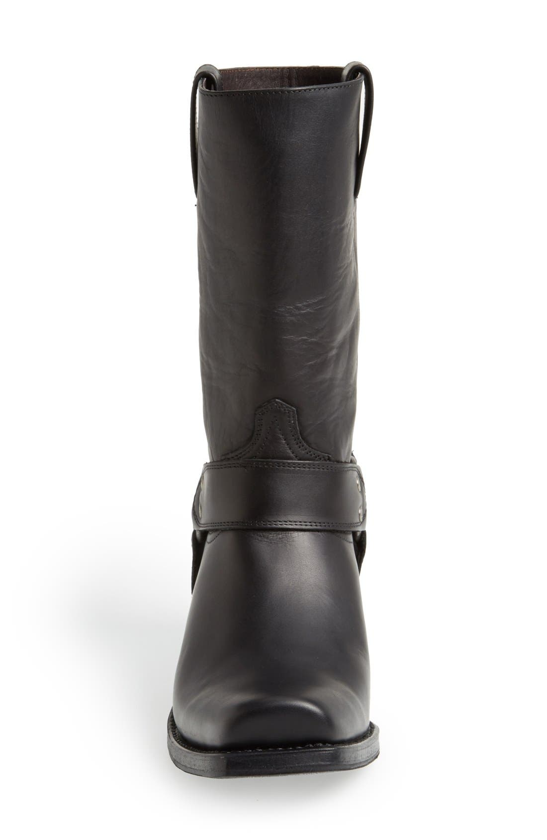 Boots Tall Harness Boot,                             Alternate thumbnail 2, color,                             BLACK