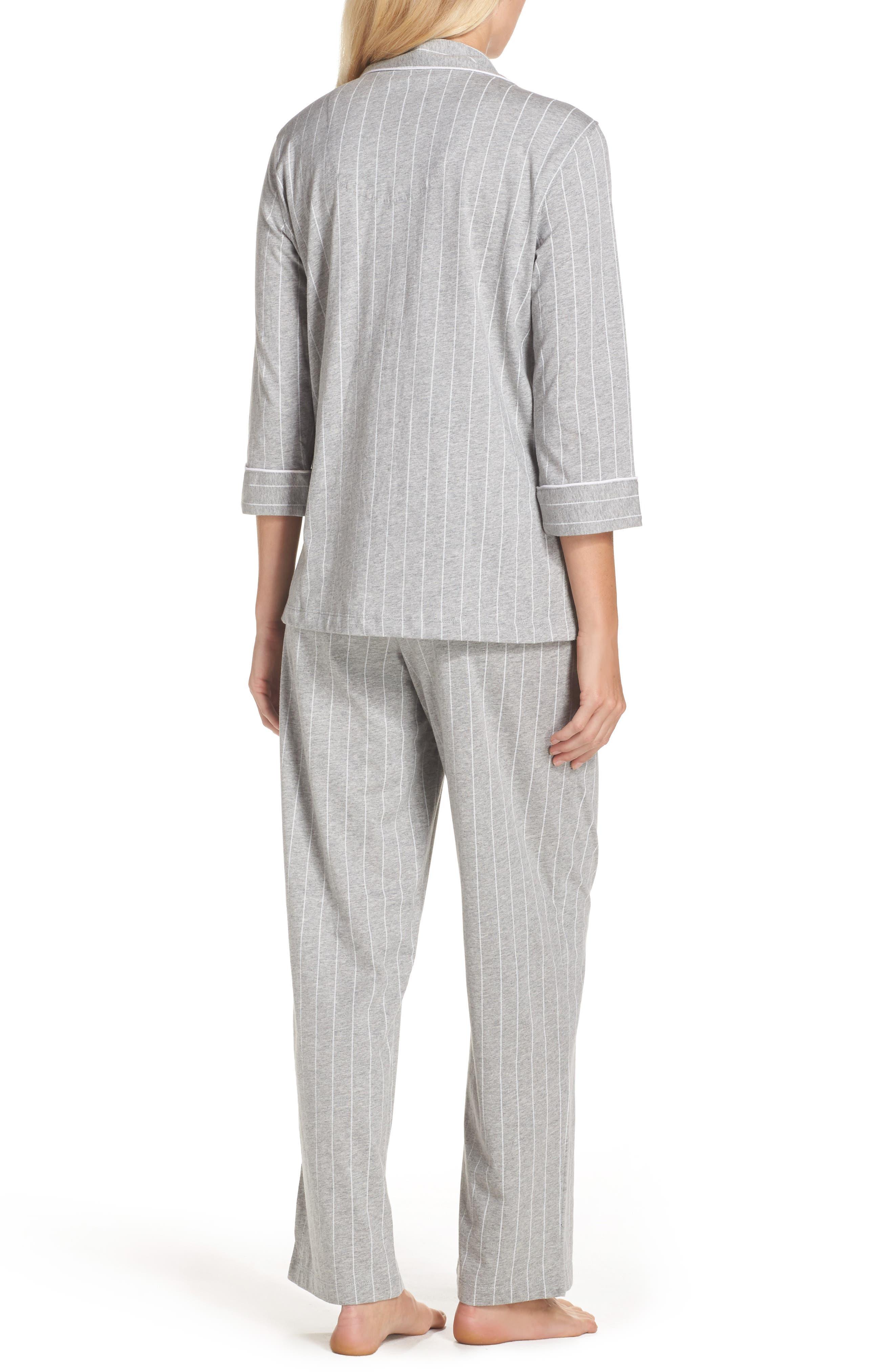 Notch Collar Pajamas,                             Alternate thumbnail 2, color,                             025