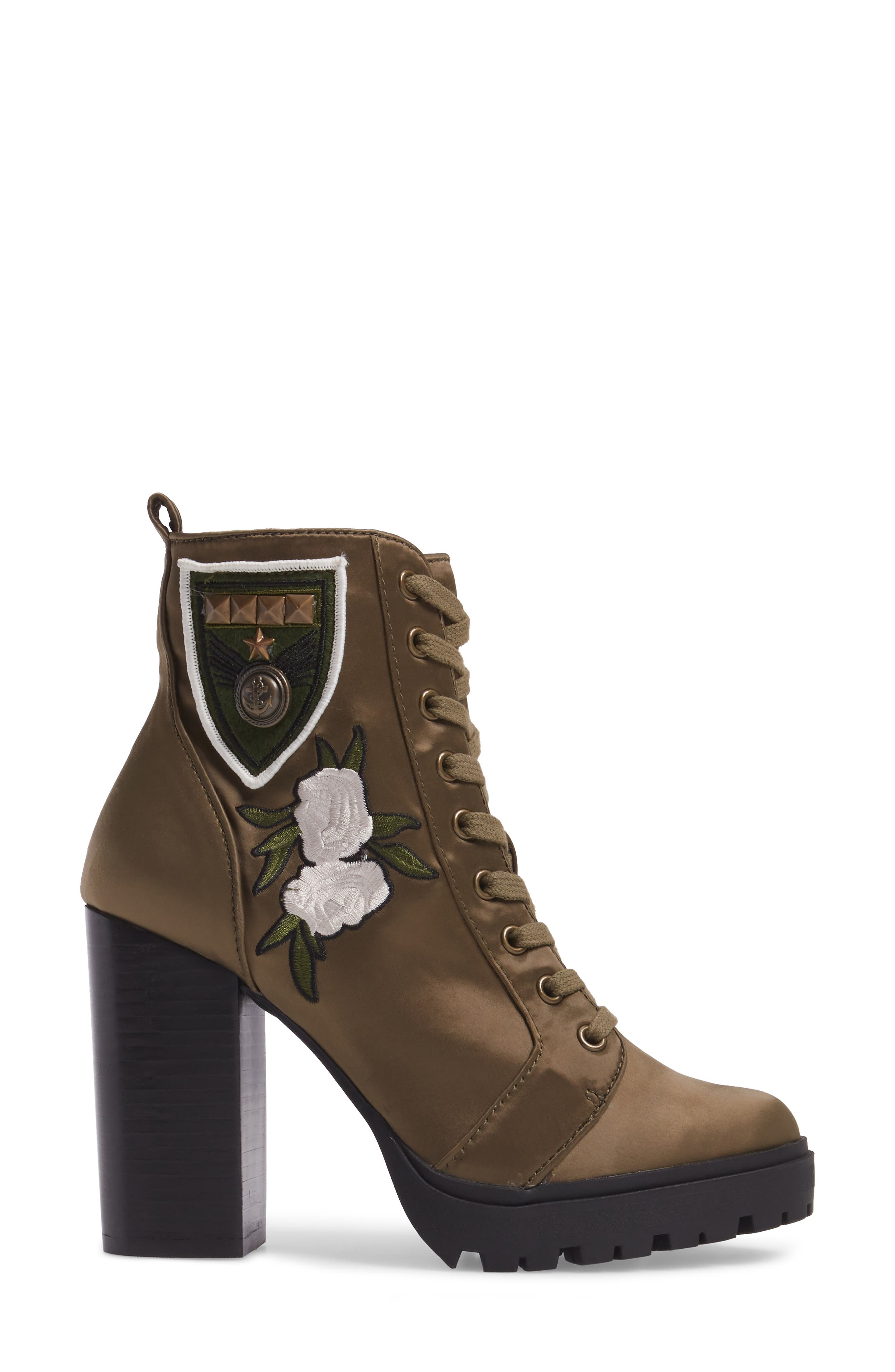 Laurie Platform Bootie,                             Alternate thumbnail 16, color,