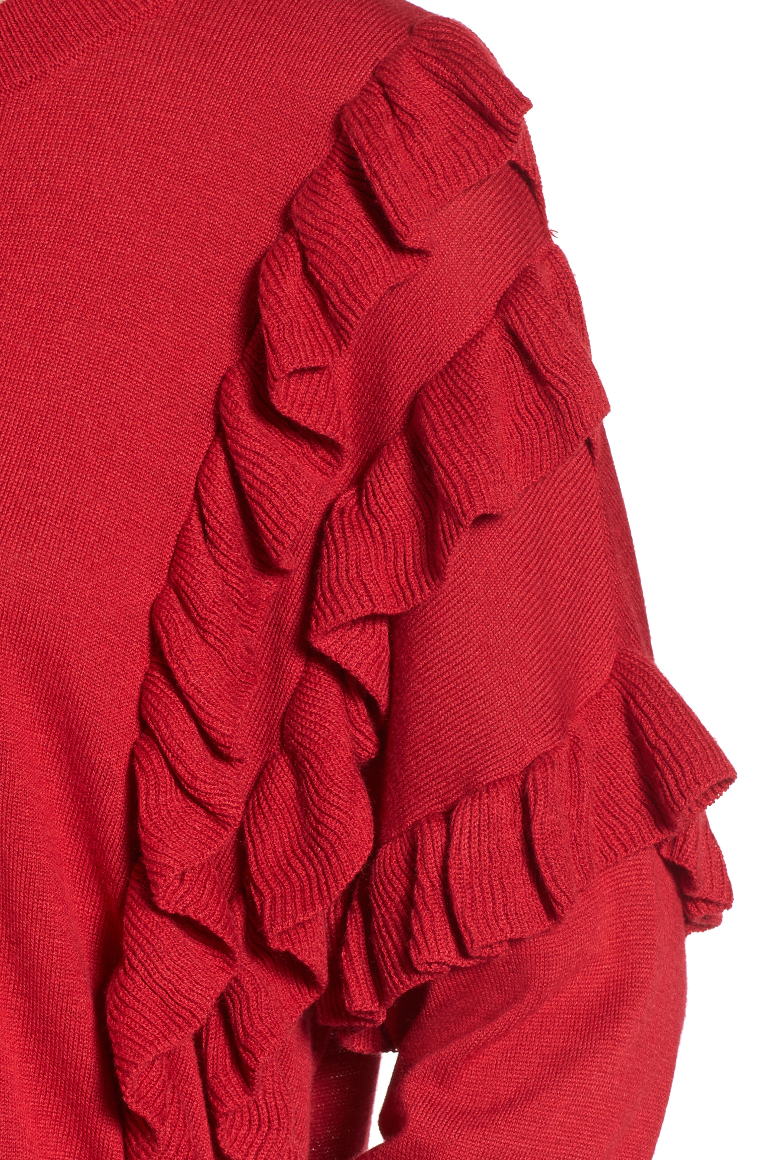 Ruffle Pullover,                             Alternate thumbnail 11, color,