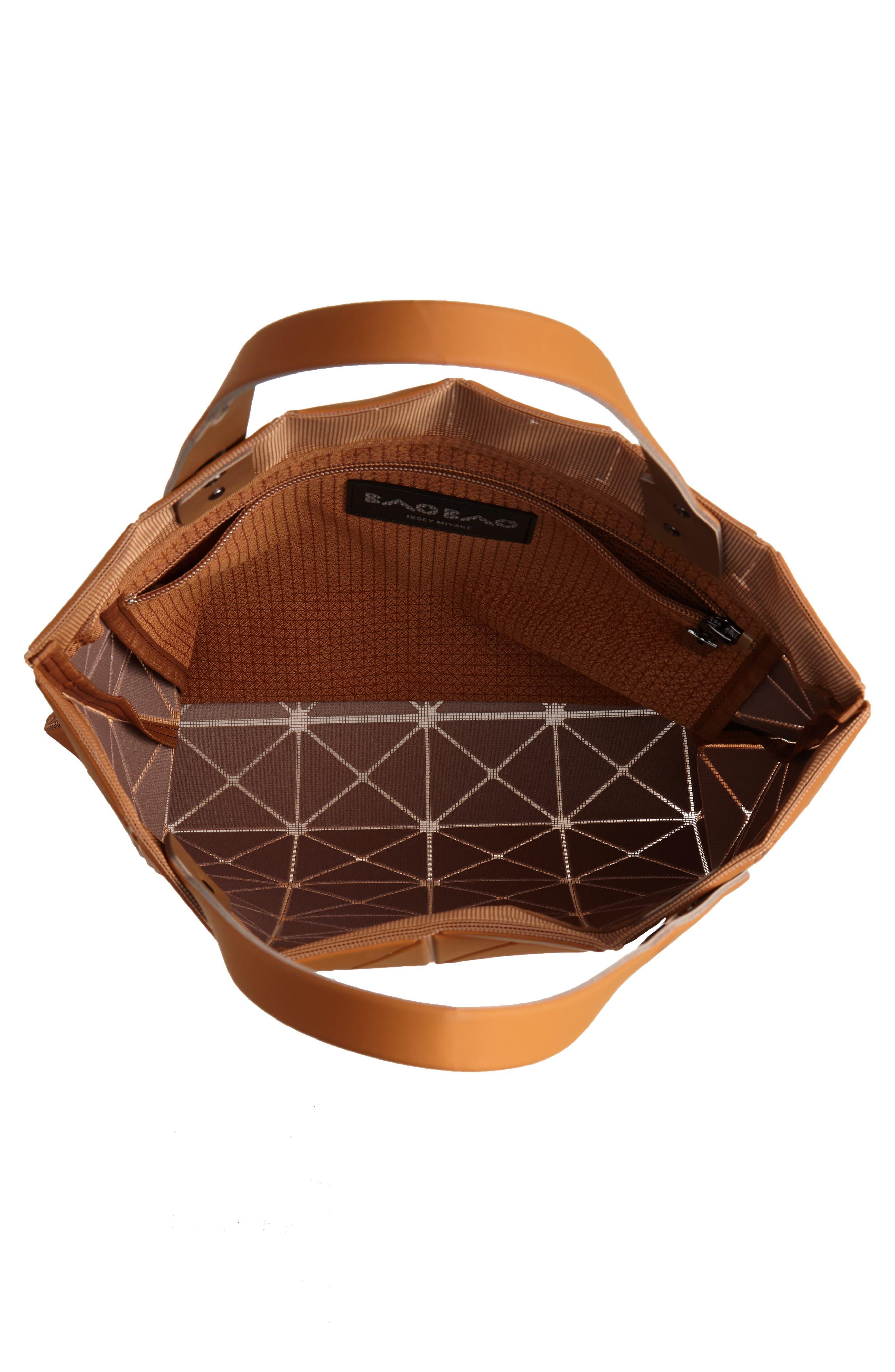 Lucent Prism Tote Bag,                             Alternate thumbnail 4, color,                             CAMEL