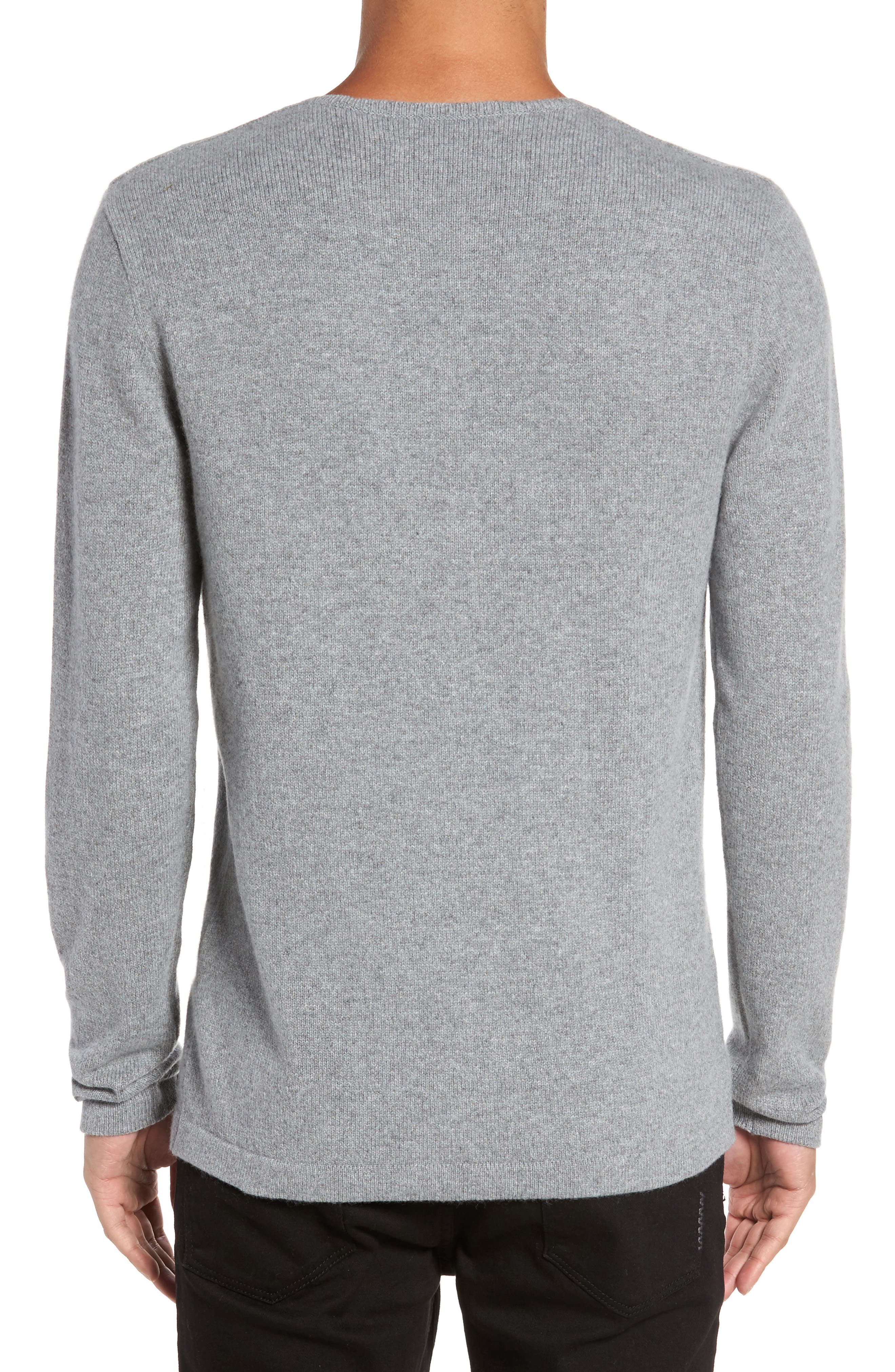 Henley Sweater,                             Alternate thumbnail 3, color,