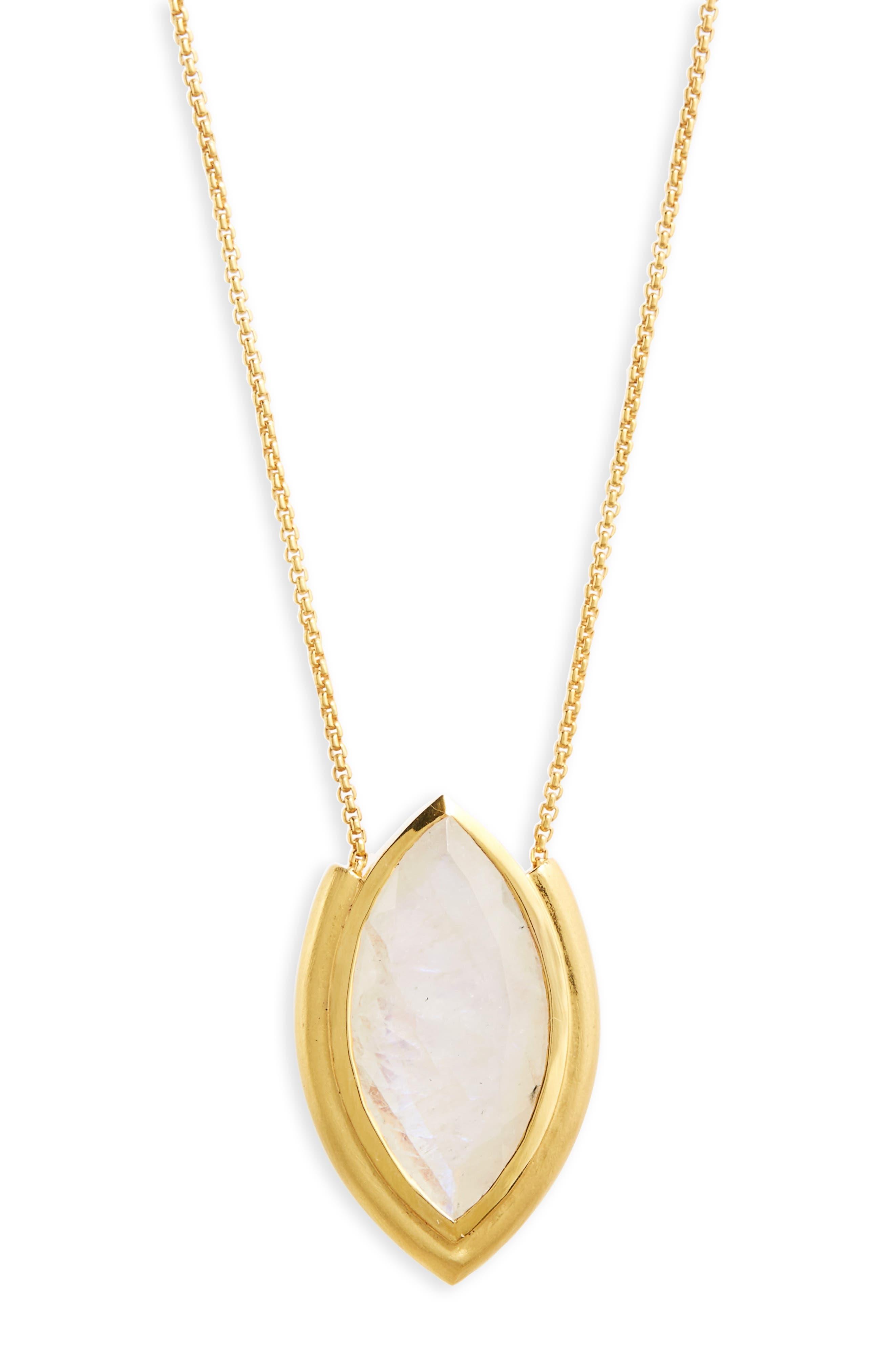 Lotus Pendant Necklace,                             Alternate thumbnail 4, color,