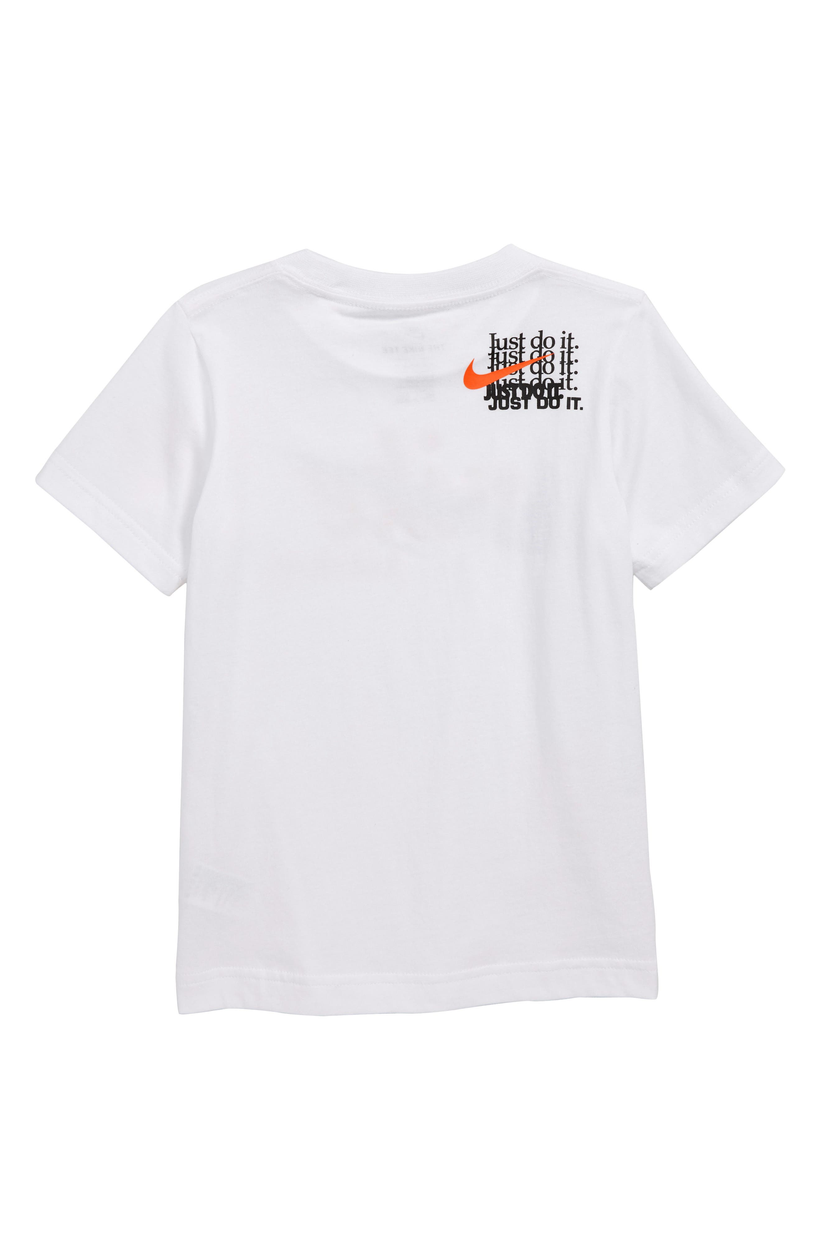 Just Do It T-Shirt,                             Alternate thumbnail 2, color,                             WHITE