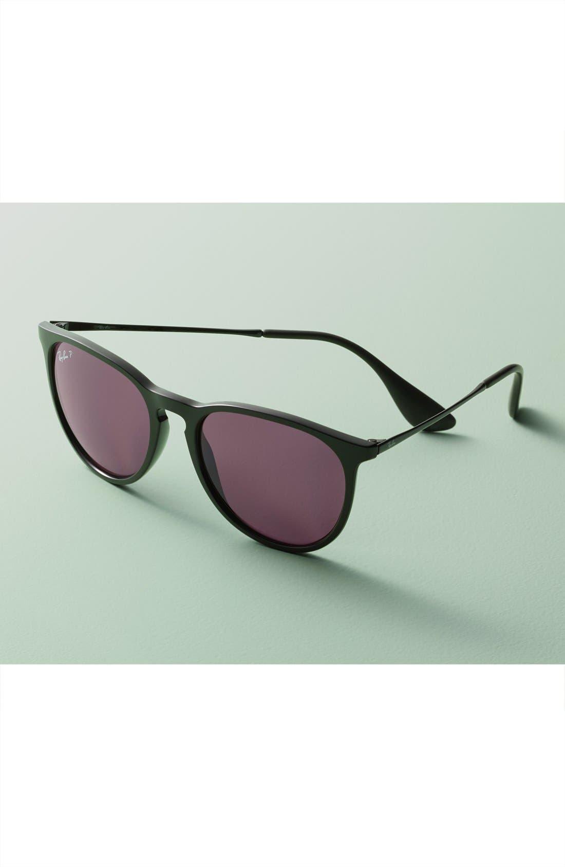 Erika Classic 54mm Sunglasses,                             Alternate thumbnail 4, color,                             HAVANA