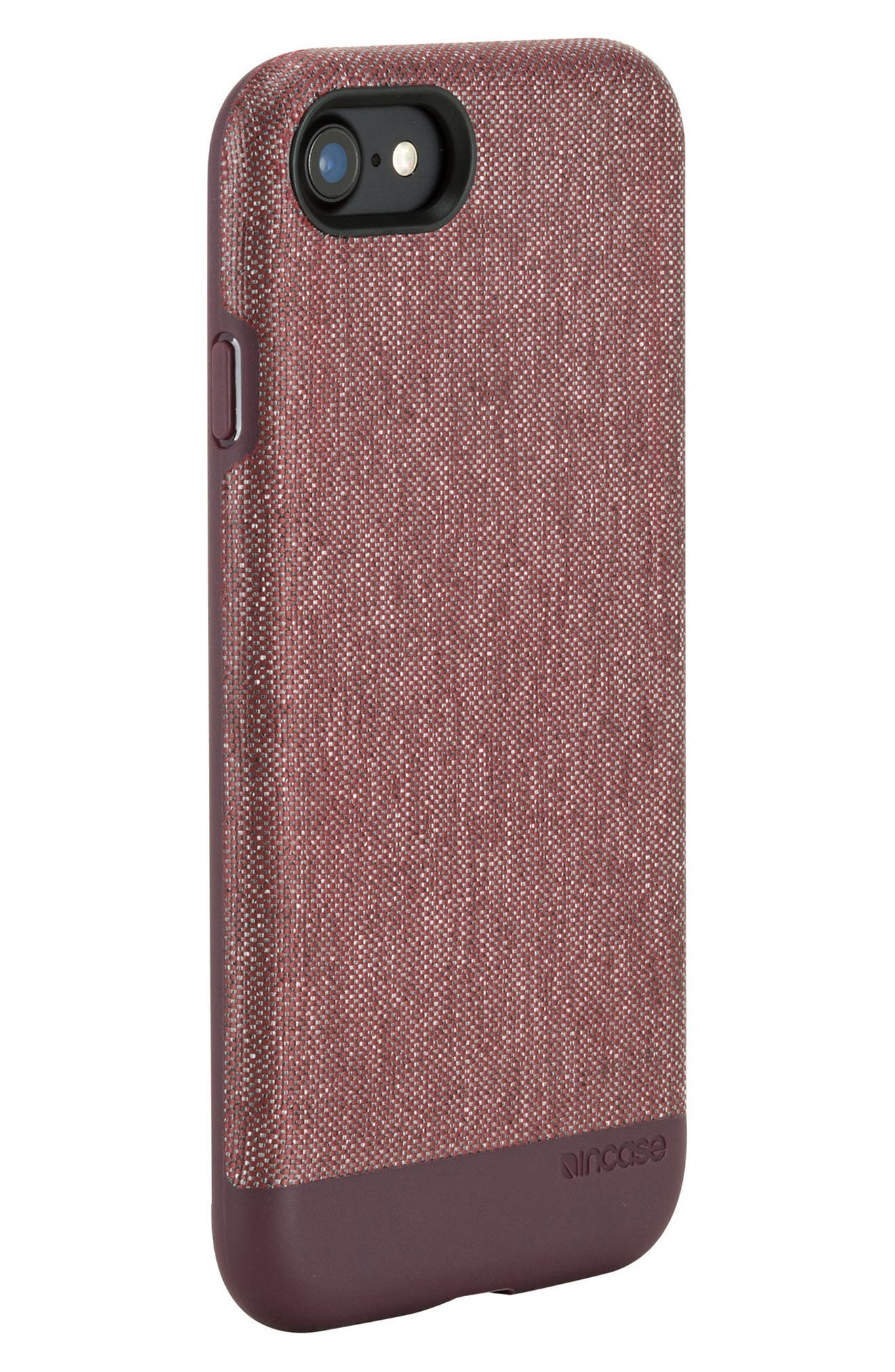 INCASE DESIGNS,                             Textured Snap iPhone 7 & iPhone 8 Case,                             Alternate thumbnail 4, color,                             001