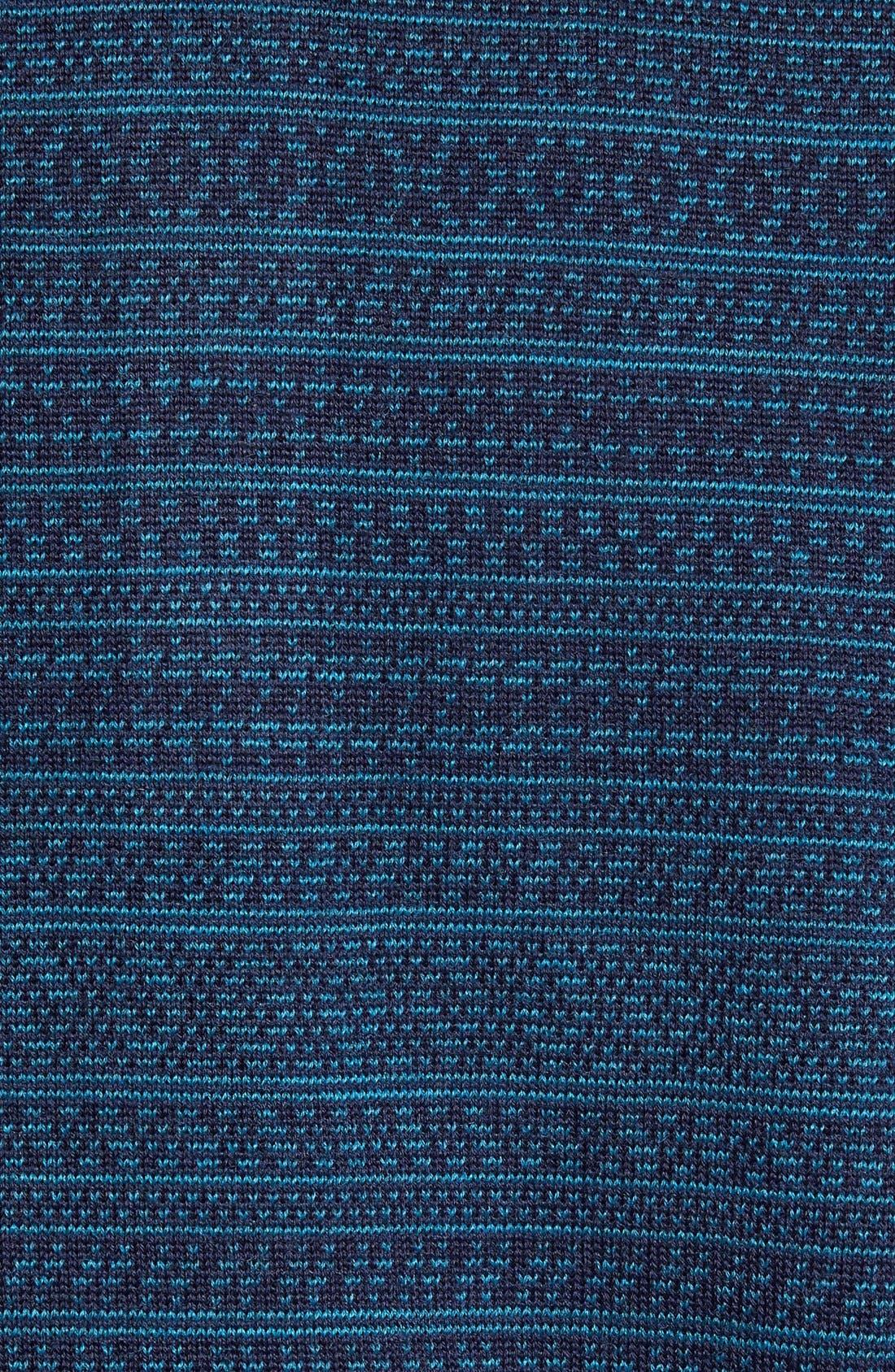 'Douglas Forest' Jacquard Wool Blend Sweater,                             Alternate thumbnail 2, color,