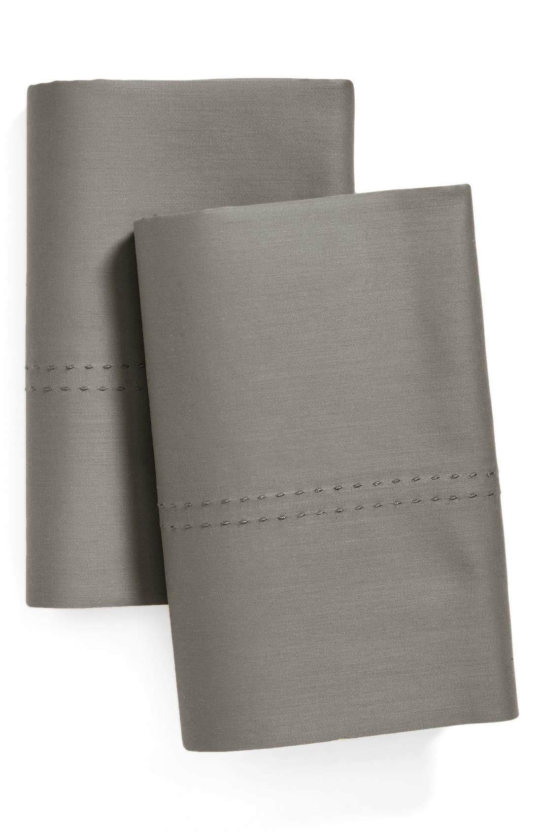 400 Thread Count Standard Pillowcases,                             Main thumbnail 3, color,
