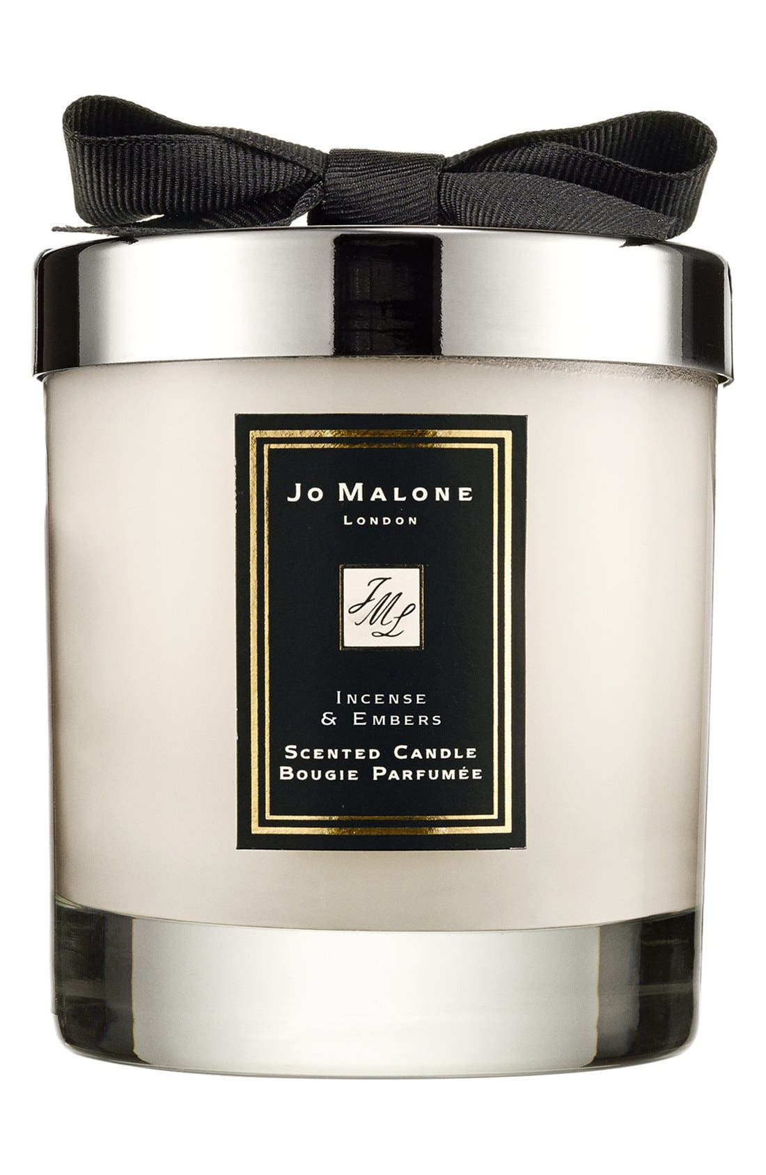 Jo Malone<sup>™</sup> Just Like Sunday - Incense & Embers Candle,                             Main thumbnail 1, color,                             NO COLOR