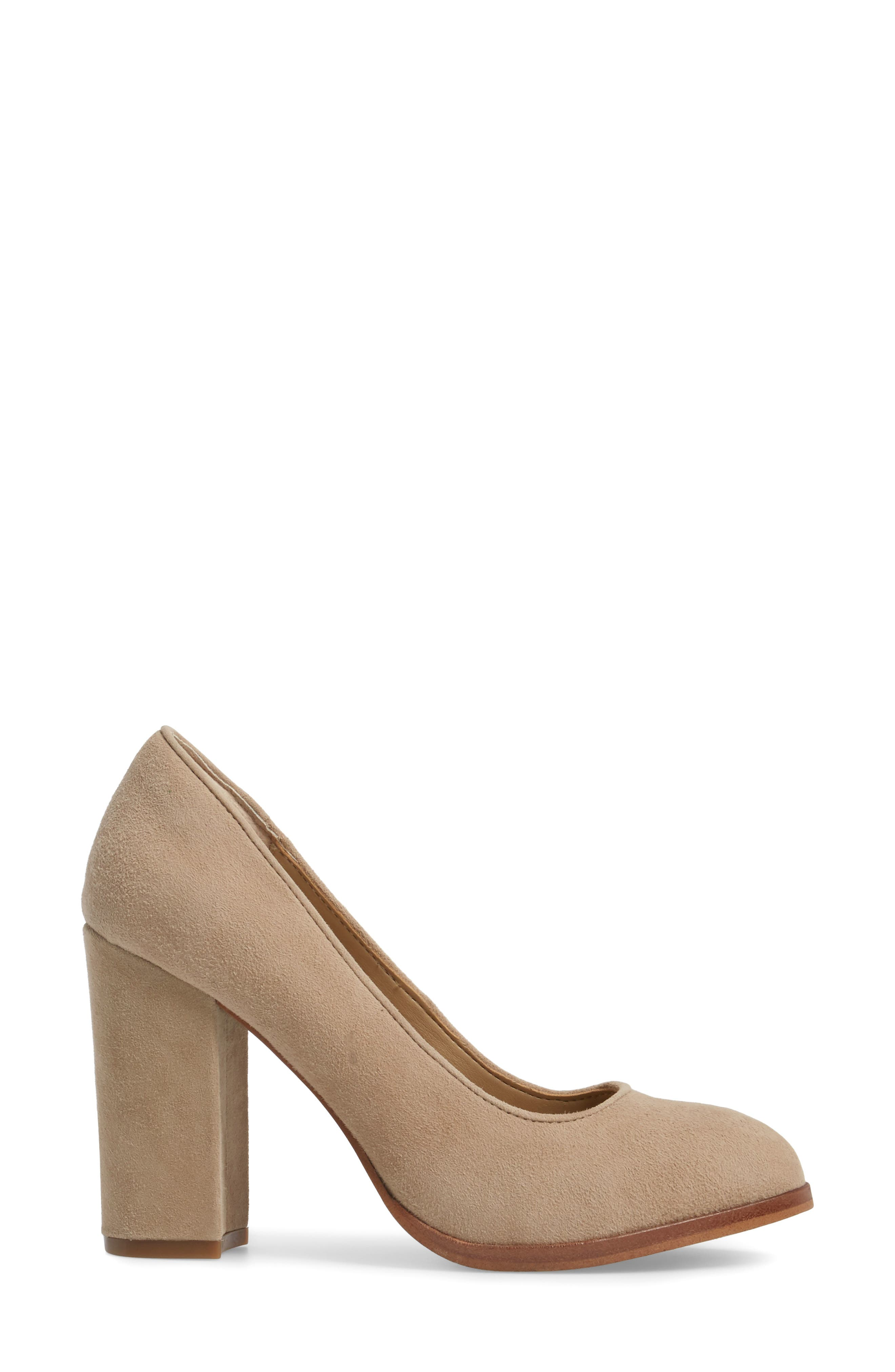 Hayley Pump,                             Alternate thumbnail 3, color,                             BAYWATER SUEDE