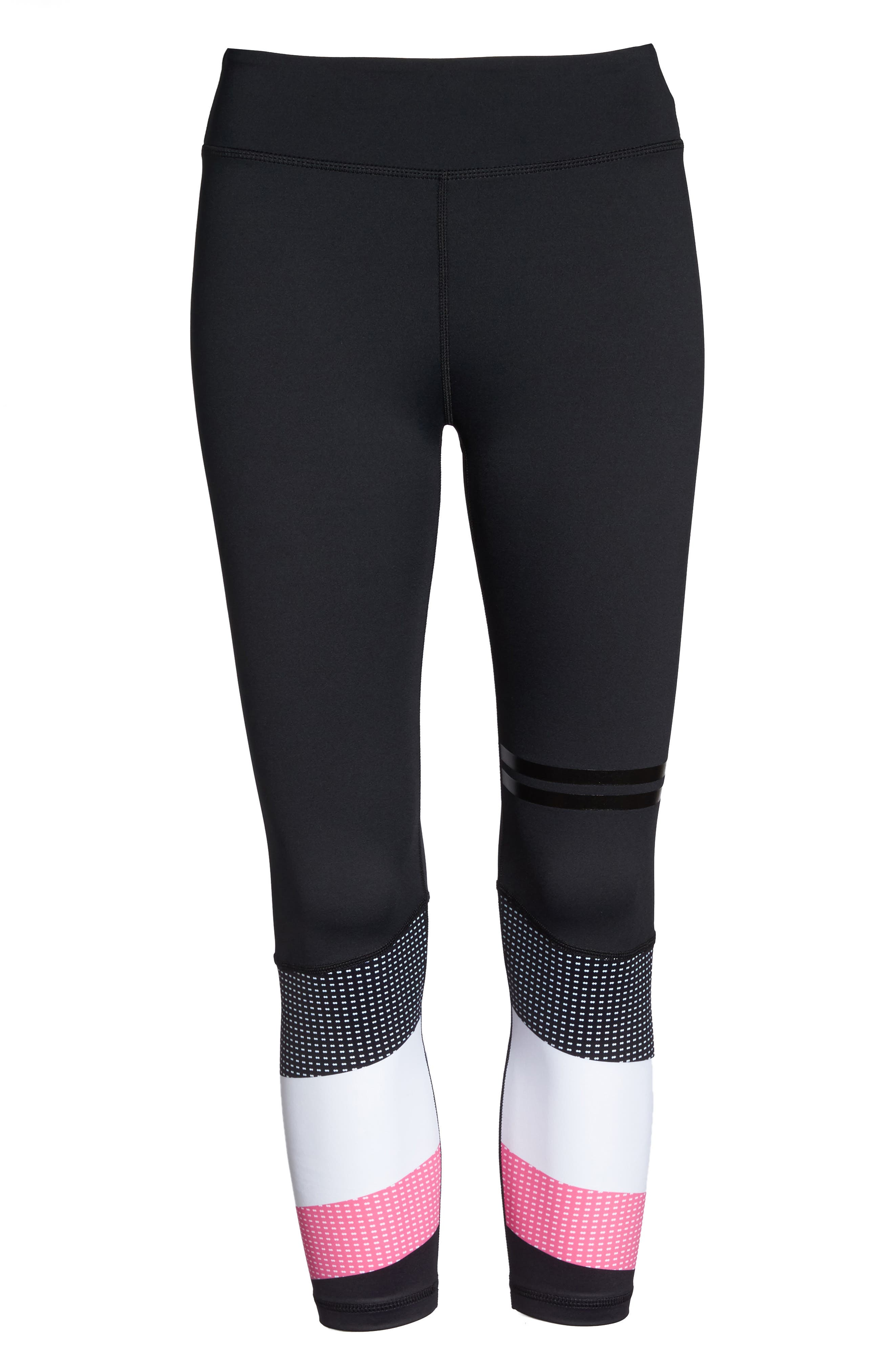 Skyler Midi Leggings,                             Alternate thumbnail 6, color,                             001