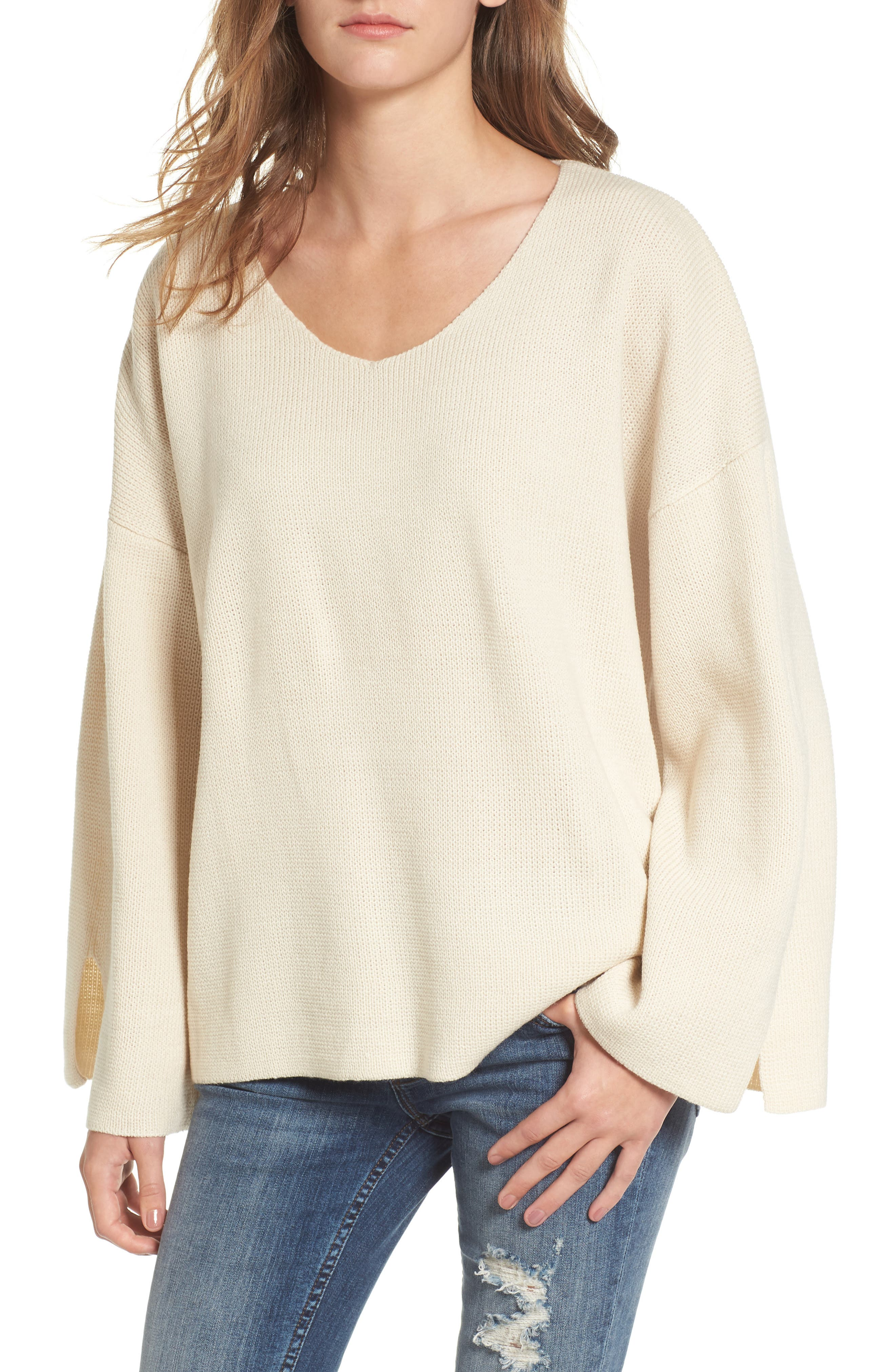 V-Neck Sweater,                         Main,                         color, 900