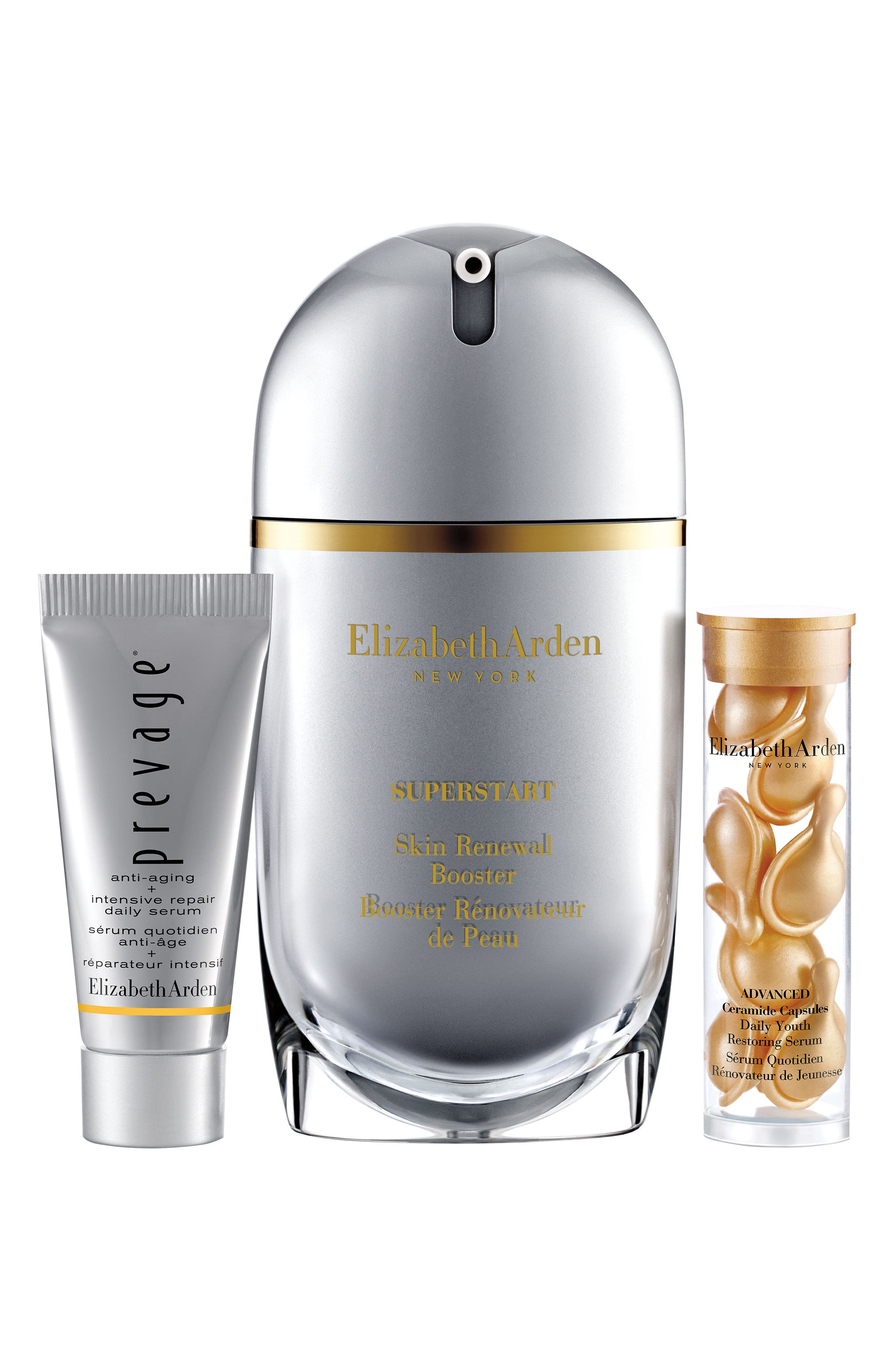 SUPERSTART Skin Renewal Booster Set,                             Main thumbnail 1, color,                             000