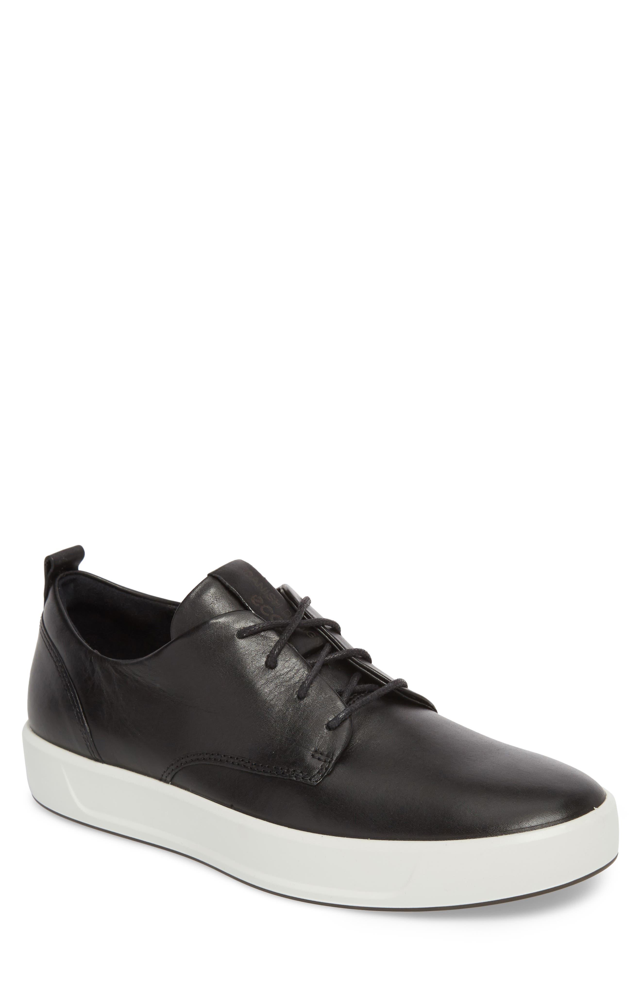 ECCO Soft 8 Street Sneaker, Main, color, 009