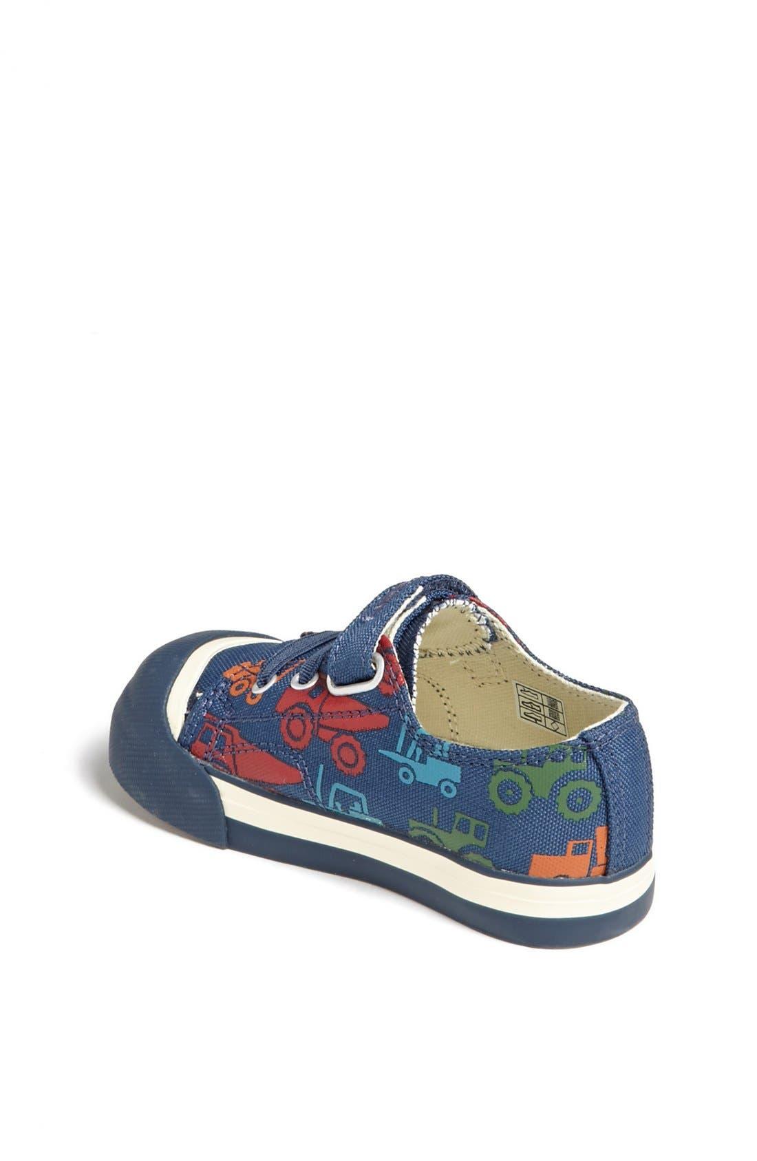 'Coronado' Print Vegan Sneaker,                             Alternate thumbnail 3, color,                             403