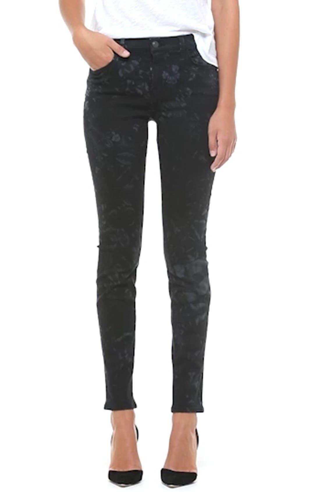 Super Skinny Jeans,                             Alternate thumbnail 8, color,