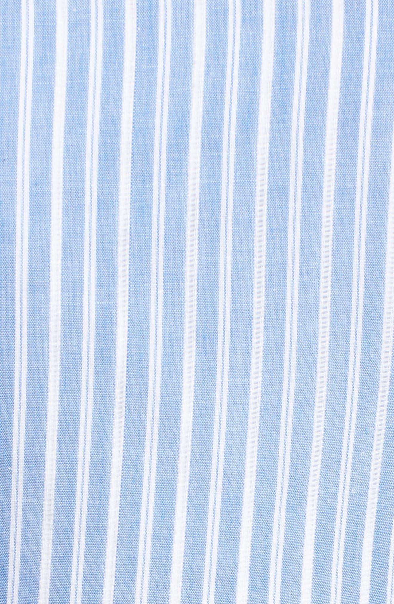 Addison Lace Tier Off the Shoulder Midi Dress,                             Alternate thumbnail 5, color,                             434