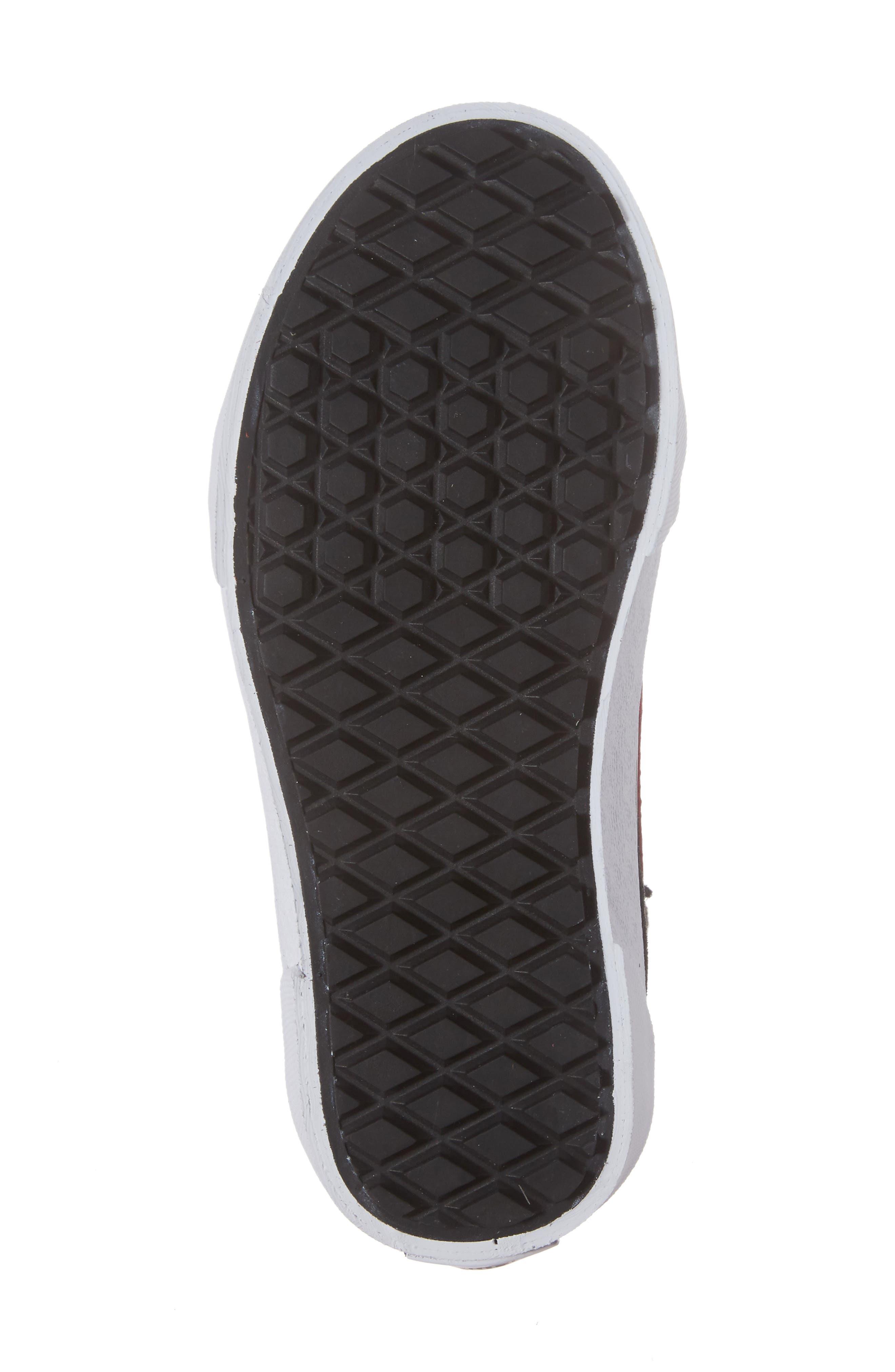 SK8-Hi Sneaker,                             Alternate thumbnail 6, color,                             001