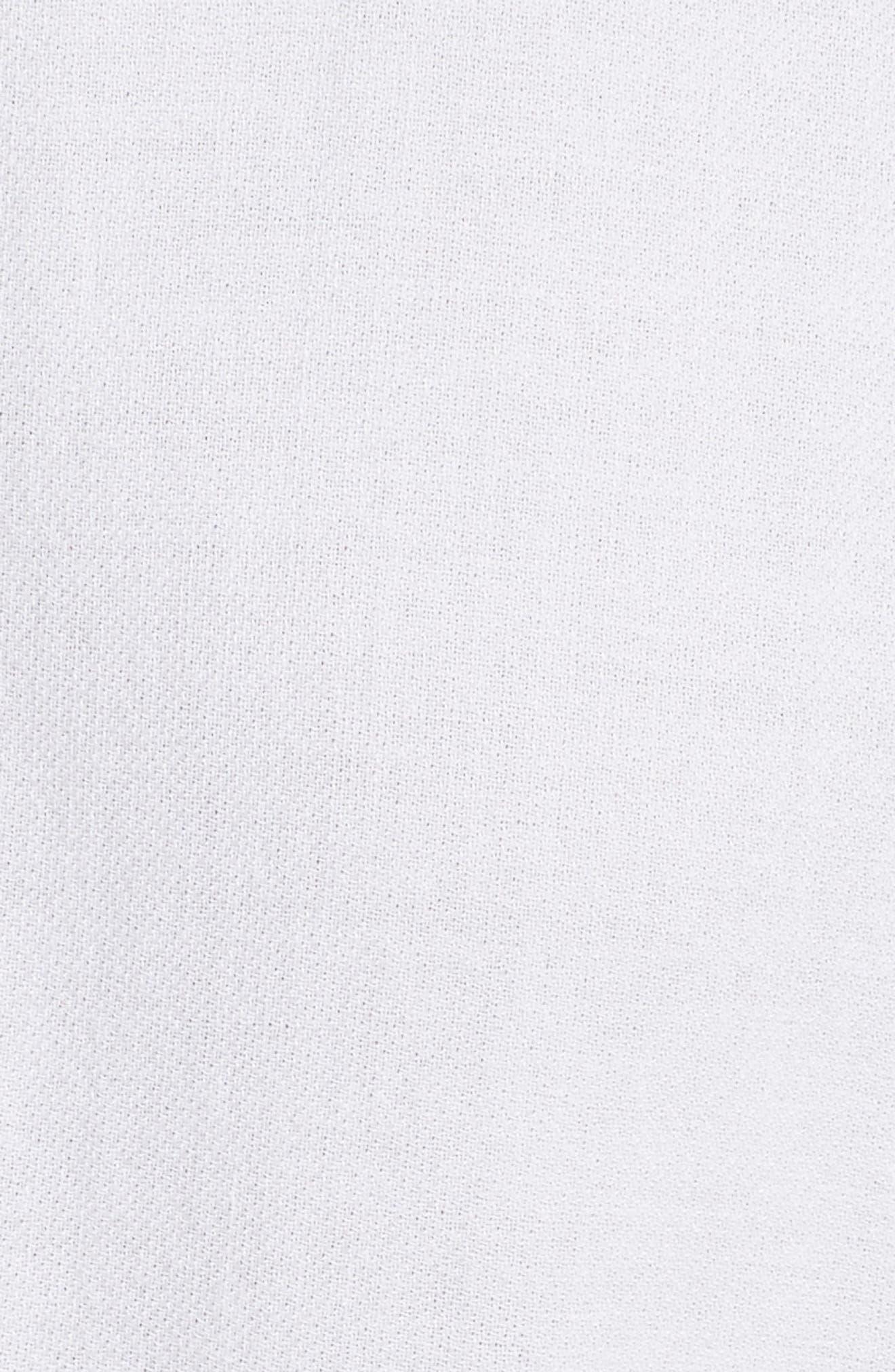 A.L.C.,                             Asa Midi Wrap Dress,                             Alternate thumbnail 5, color,                             100