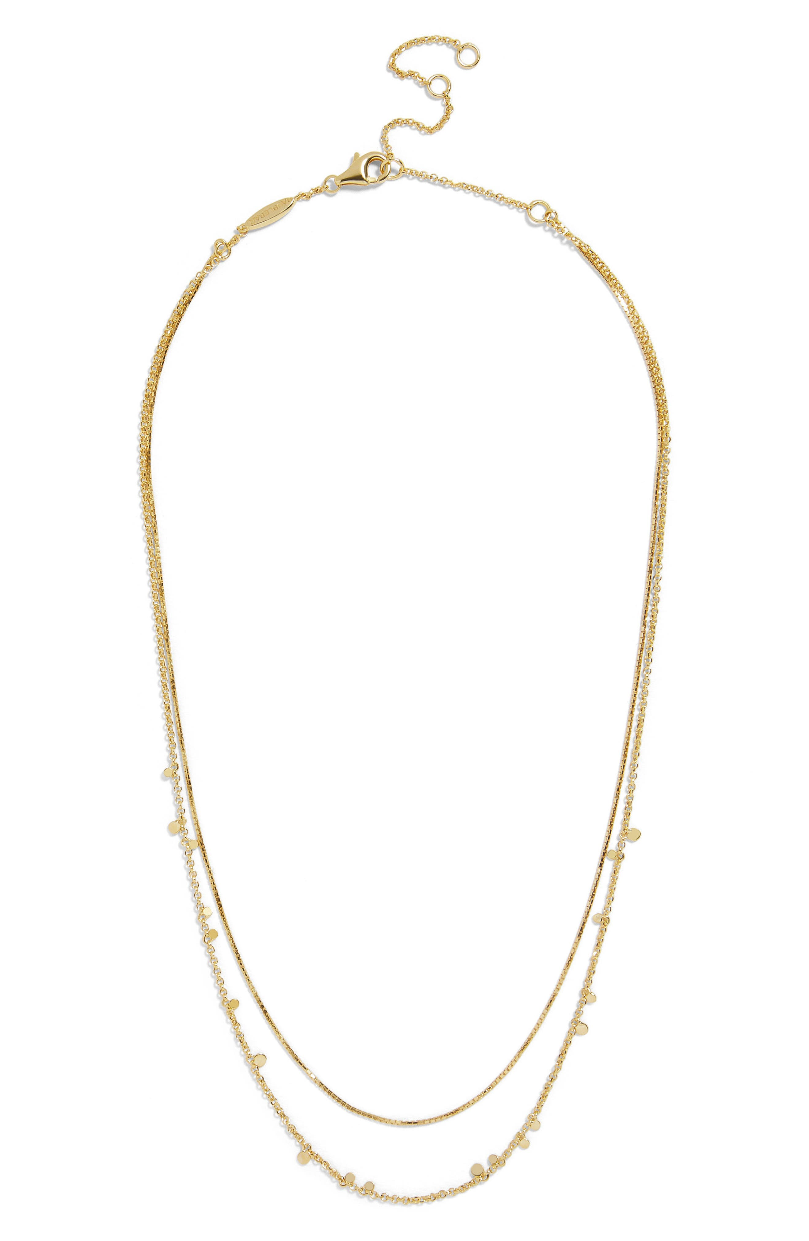 Confetti Everyday Two Strand Necklace,                         Main,                         color, 710