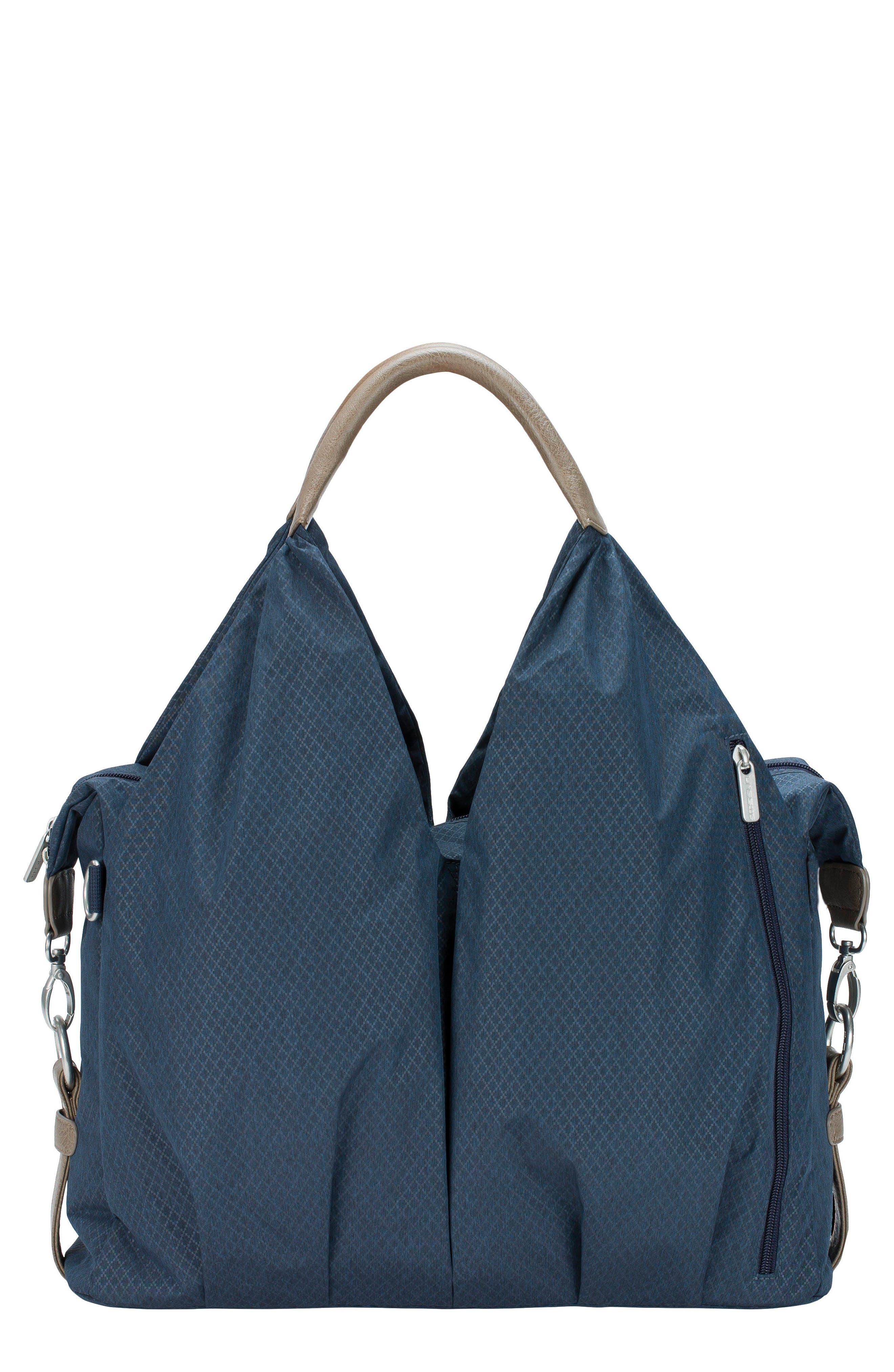 Infant Lassig Green Label  Neckline Diaper Bag  Blue