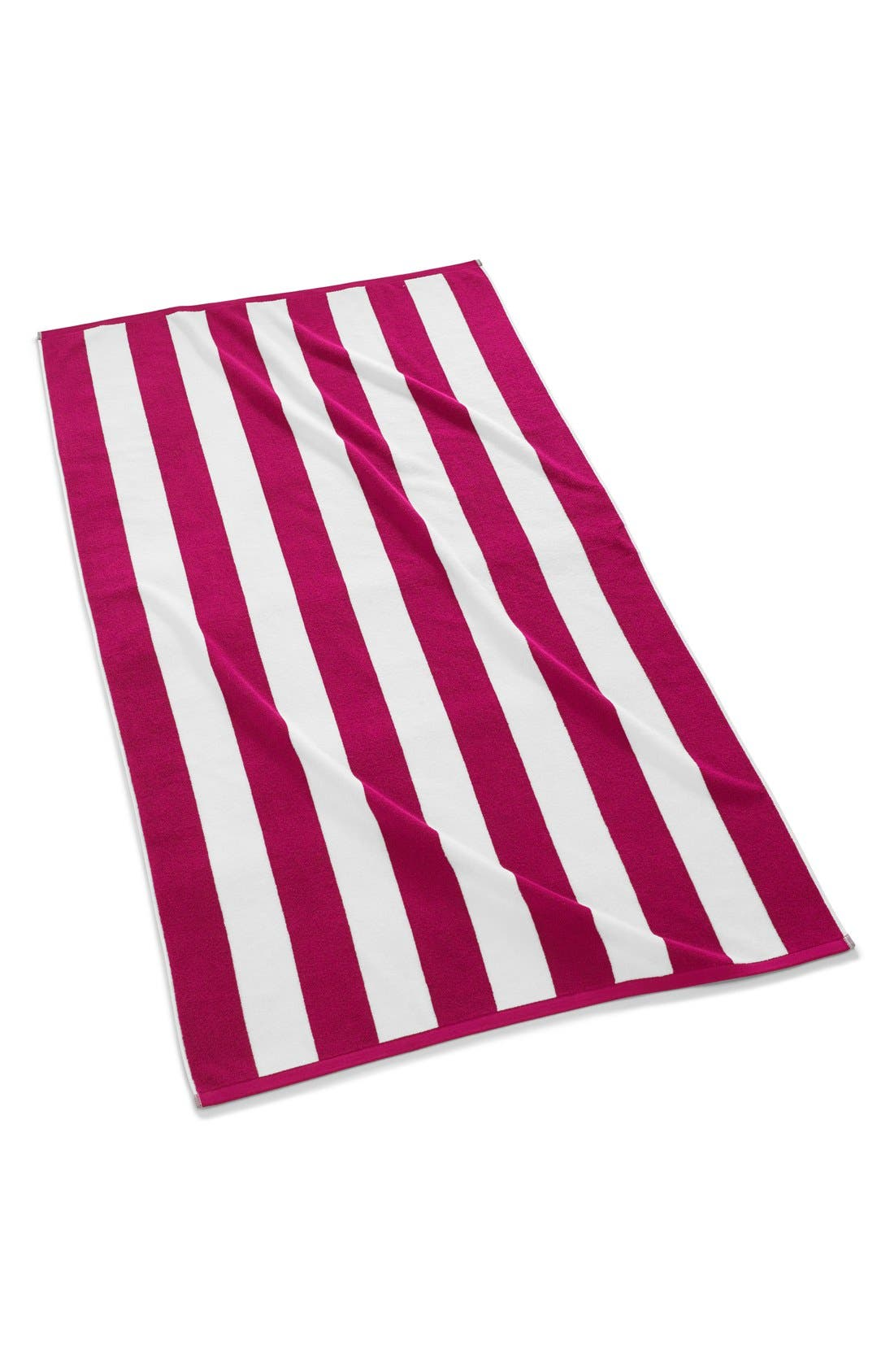 KASSATEX 'Cabana' Stripe Beach Towel, Main, color, 670