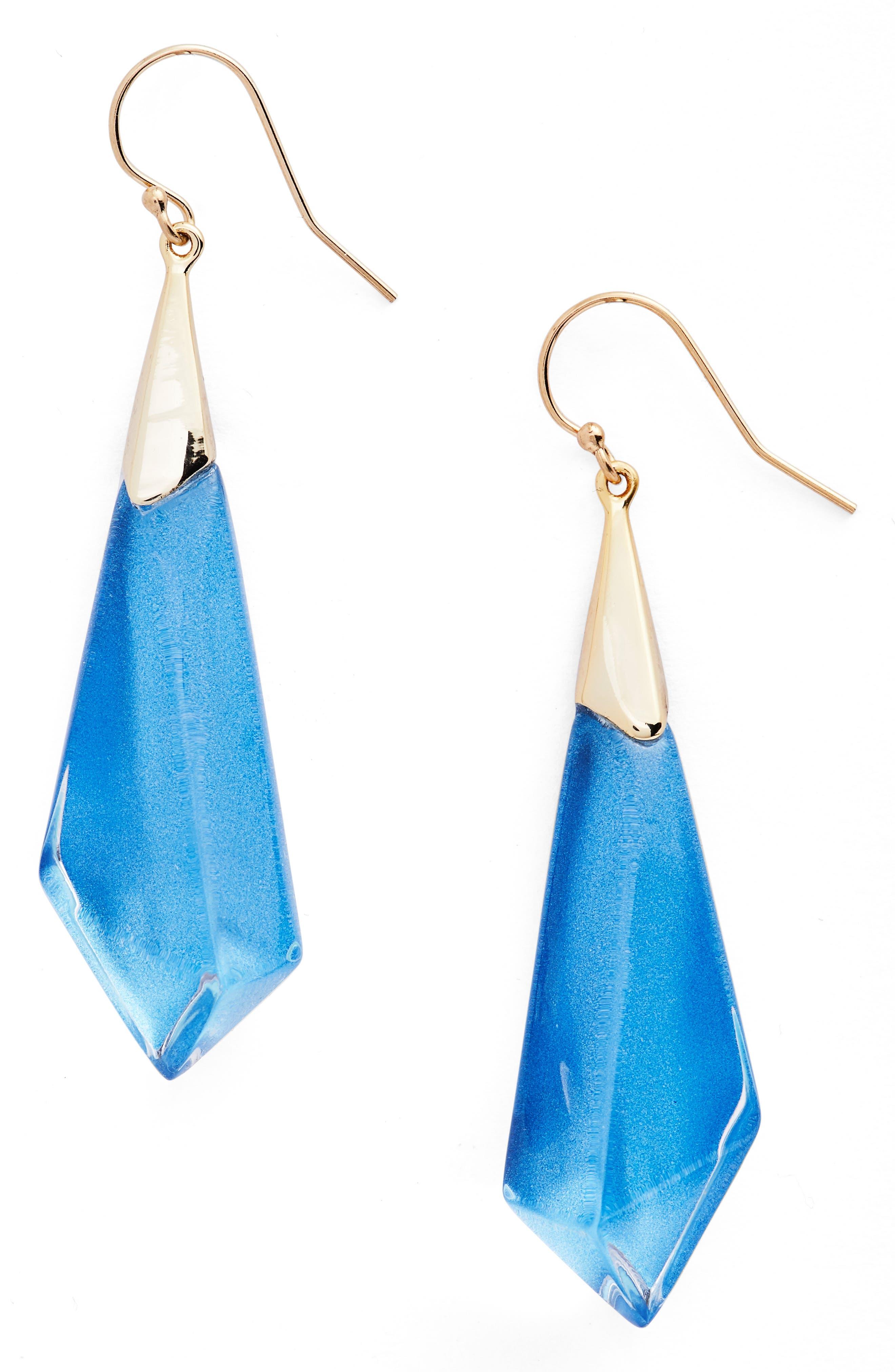 Lucite<sup>®</sup> Drop Earrings,                             Main thumbnail 4, color,