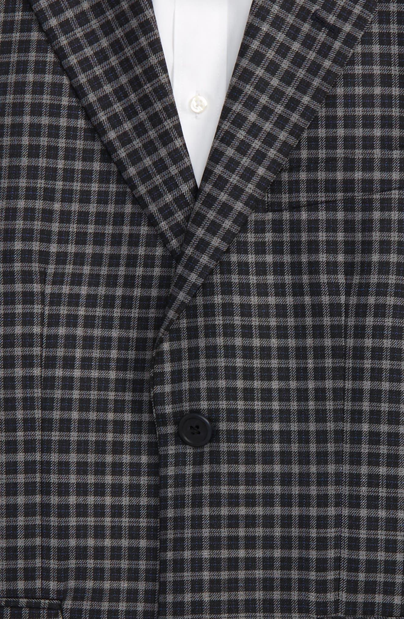 Plaid Wool Sport Coat,                             Alternate thumbnail 2, color,                             403
