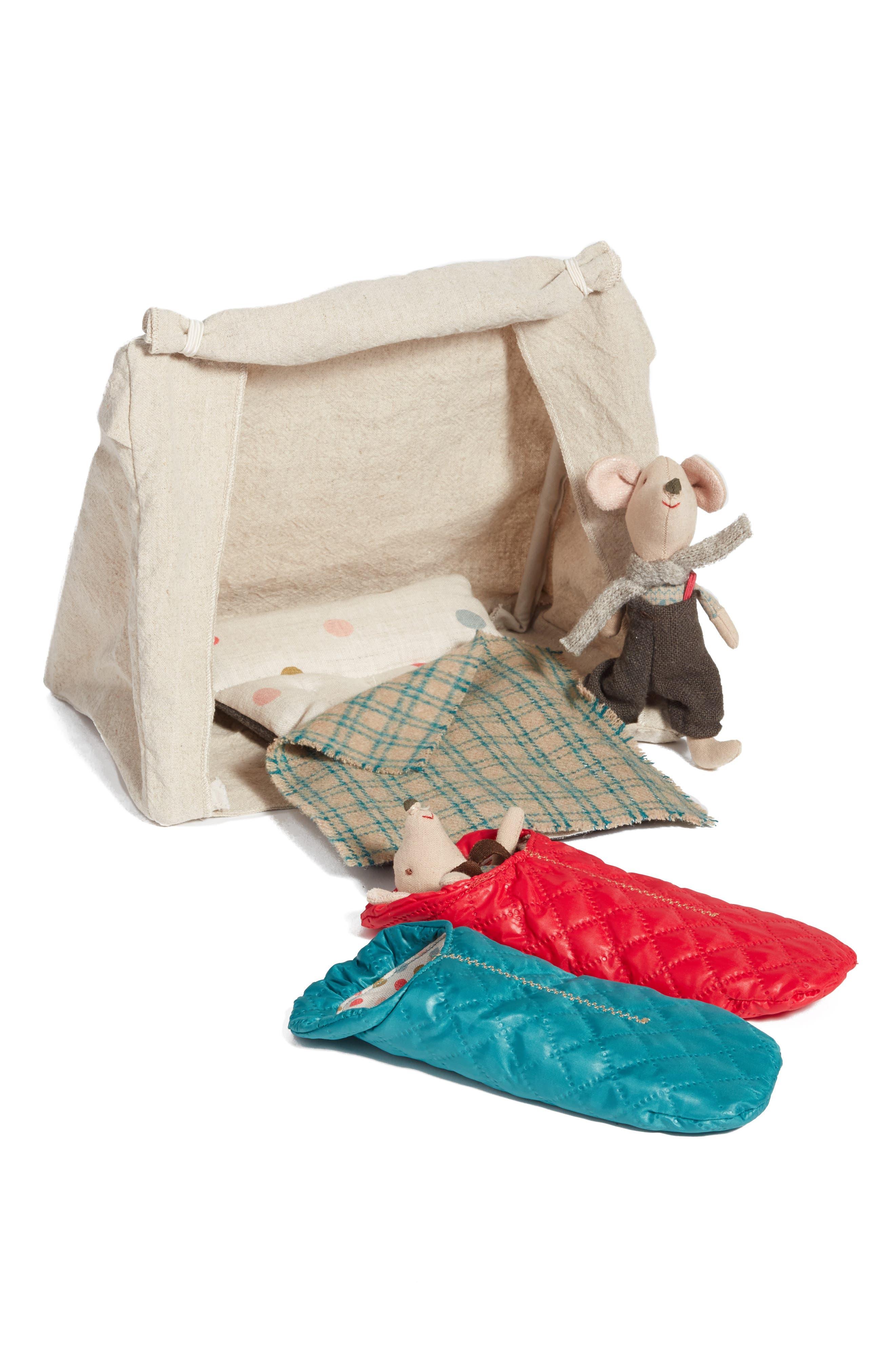 Mouse Tent 5-Piece Play Set,                         Main,                         color, 401
