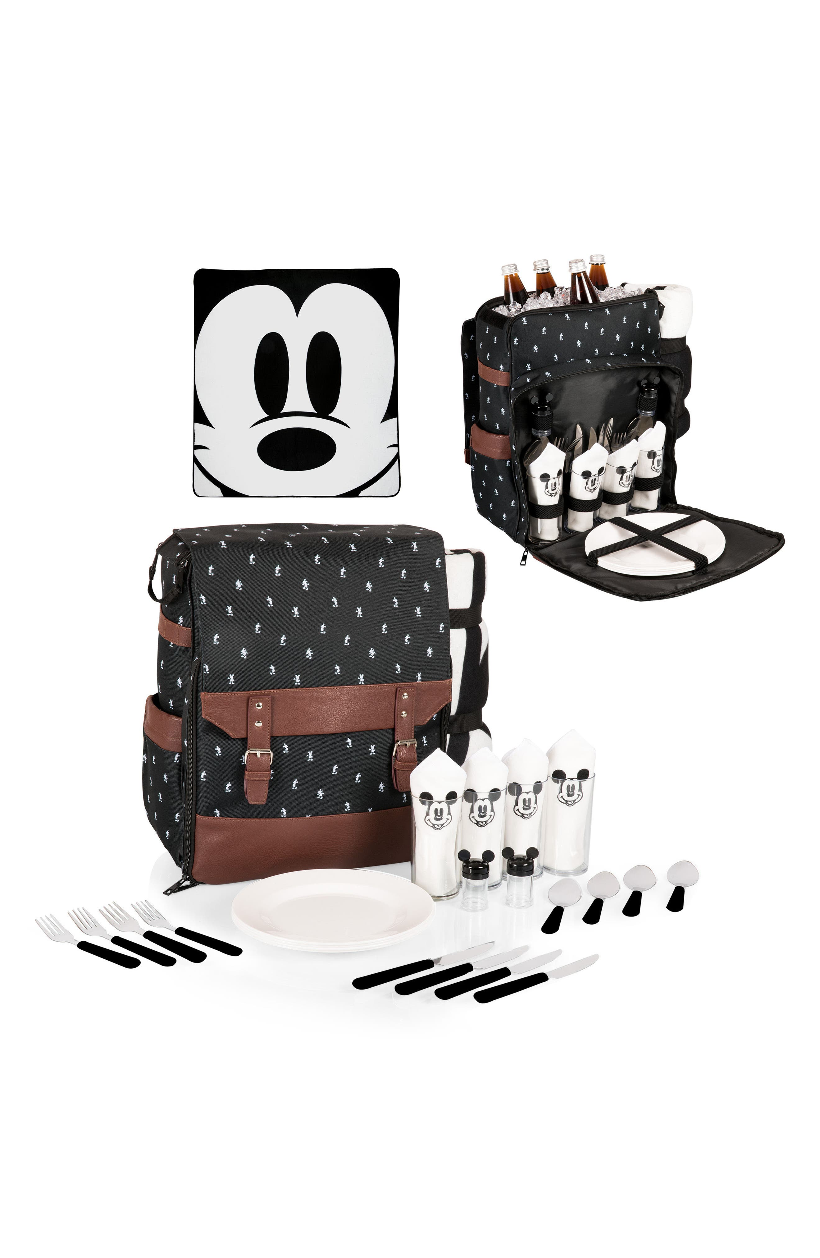 Mickey Mouse<sup>®</sup> Picnic Backpack,                             Alternate thumbnail 6, color,                             001