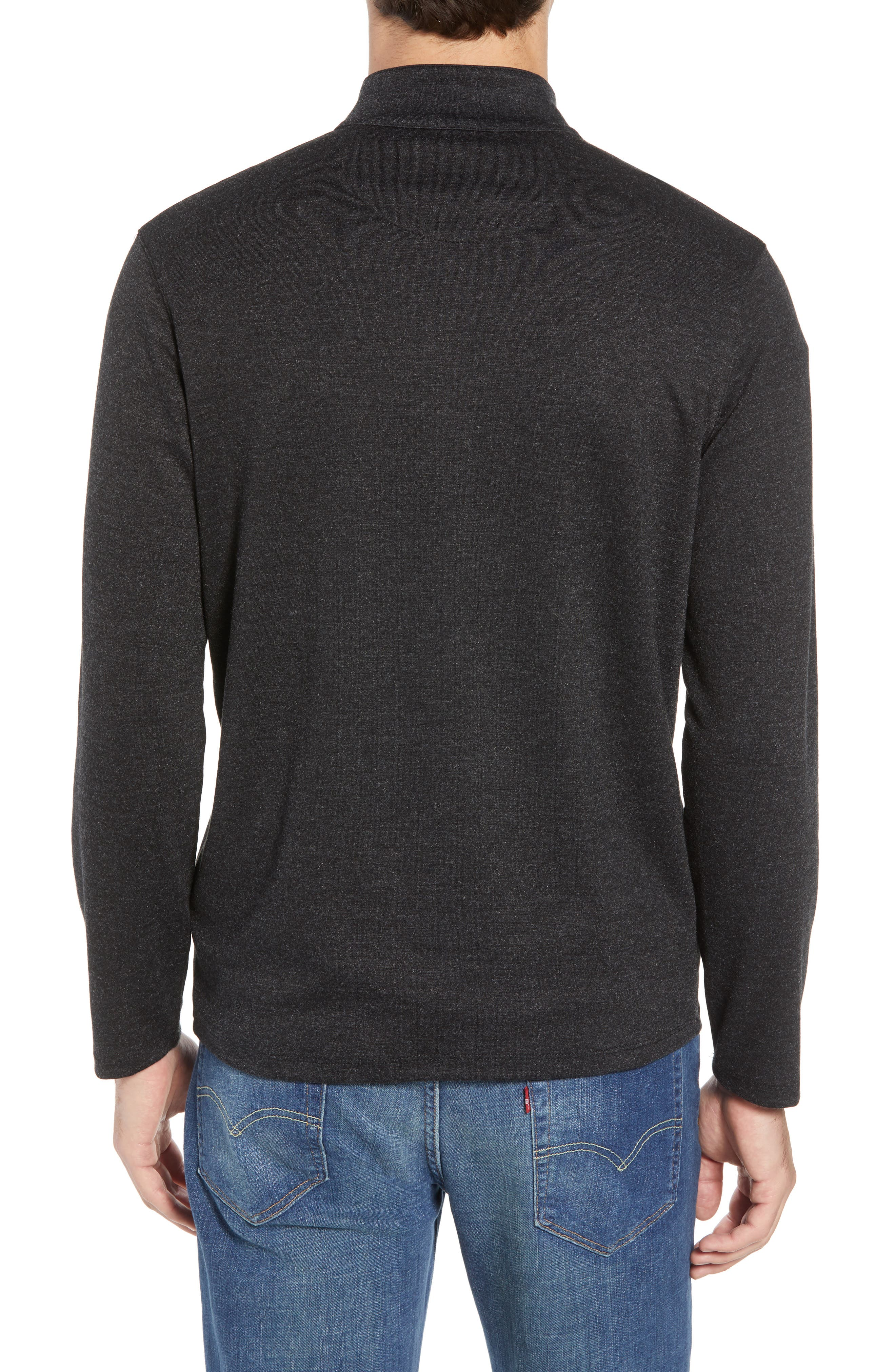North Mock Neck Pullover,                             Alternate thumbnail 2, color,                             NORTH GREY
