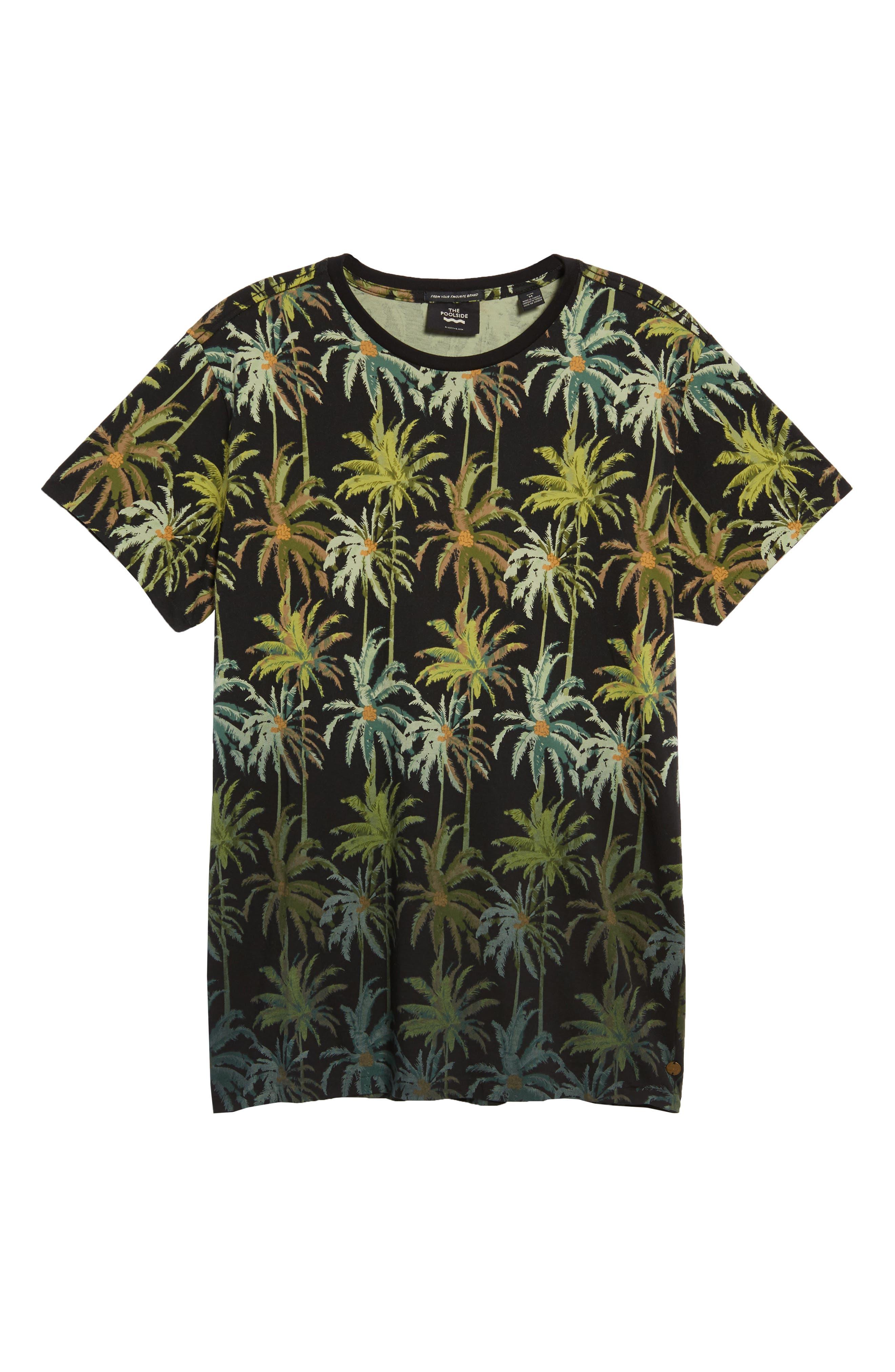 The Poolside Print T-Shirt,                             Alternate thumbnail 6, color,                             COMBO B