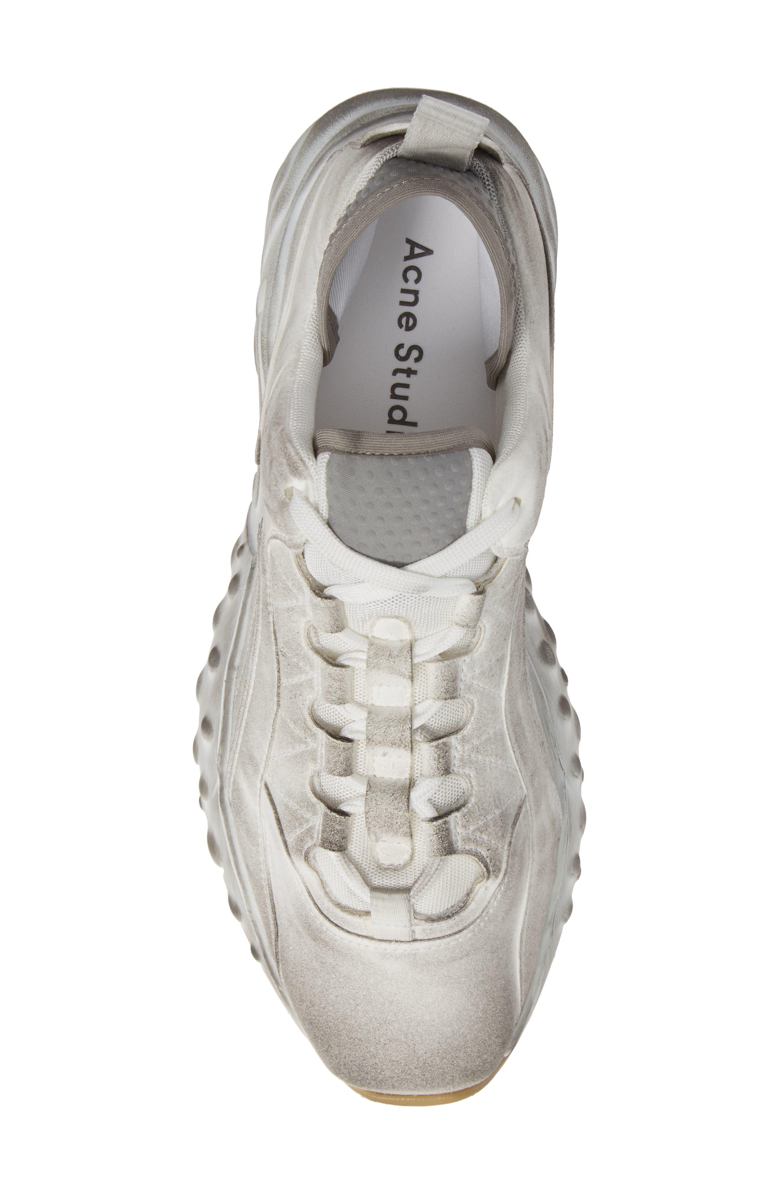 Rockaway Built-Up Sneaker,                             Alternate thumbnail 5, color,                             WHITE